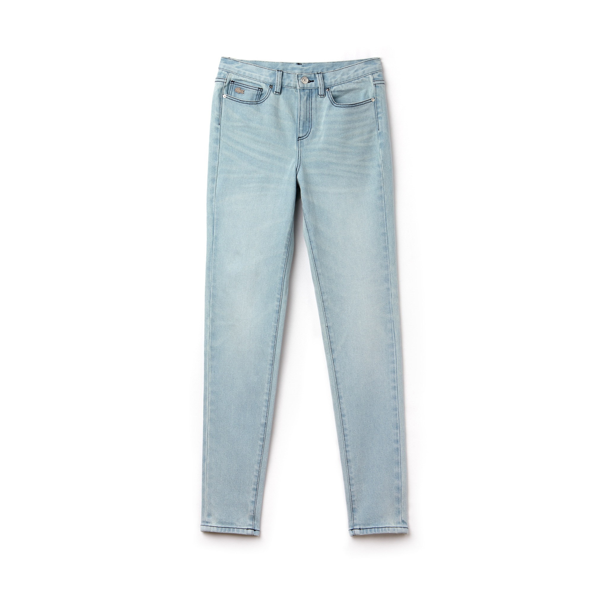 Jean 5 poches Lacoste LIVE en denim de coton stretch