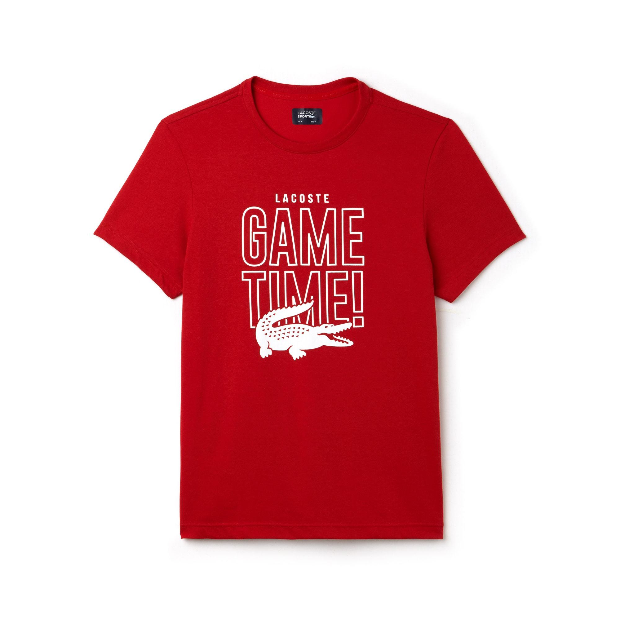 T-shirt col rond Tennis Lacoste SPORT en jersey technique Game Time