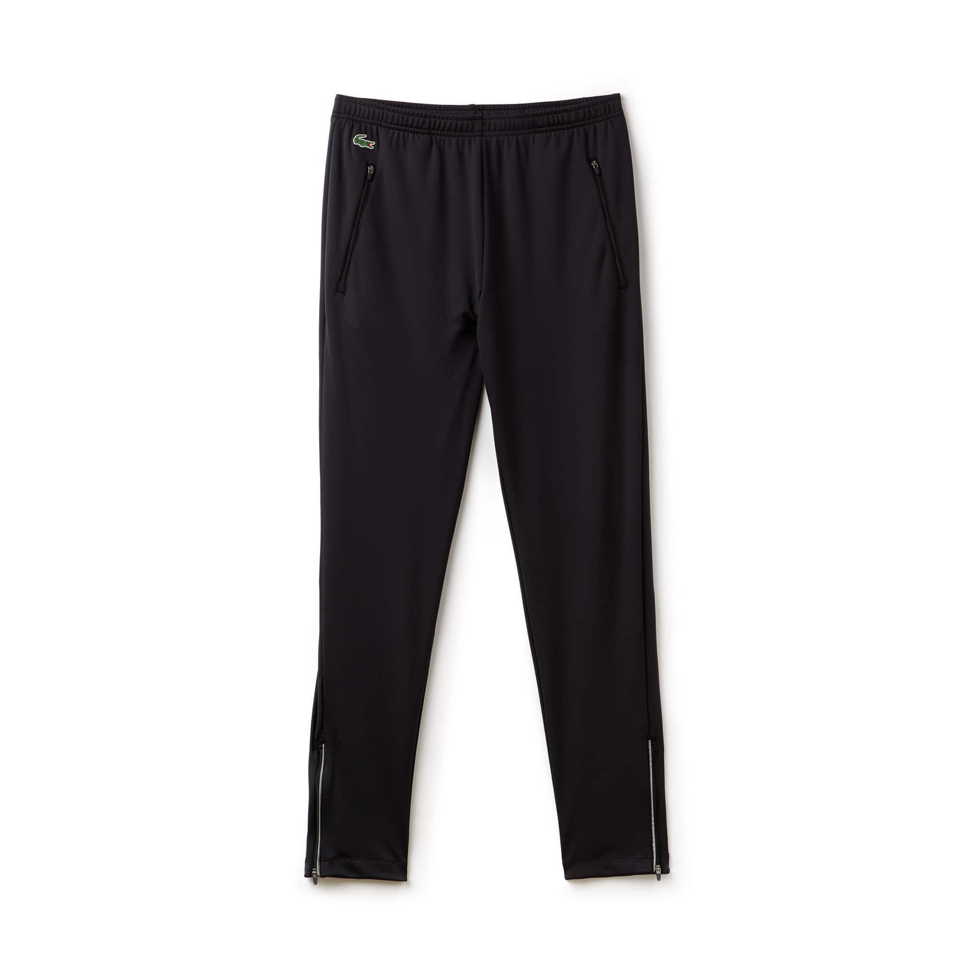 Pantalon de survêtement Lacoste SPORT COLLECTION NOVAK DJOKOVIC SUPPORT WITH STYLE en jersey stretch technique