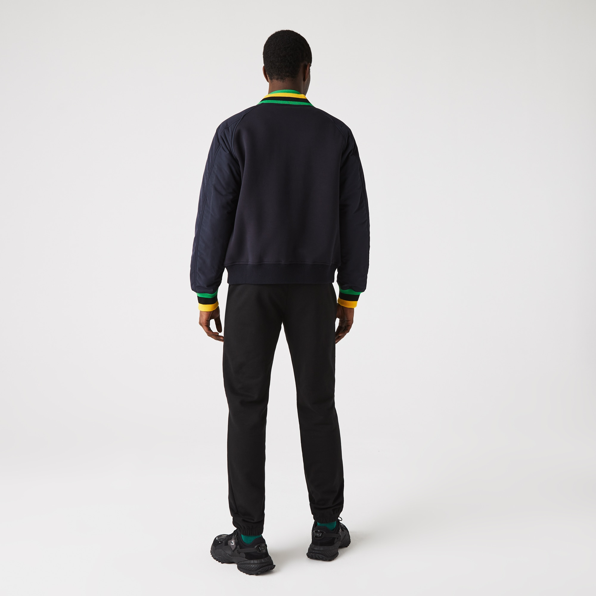 1aa287e441 Pantalon de survêtement Tennis Lacoste SPORT en molleton uni | LACOSTE