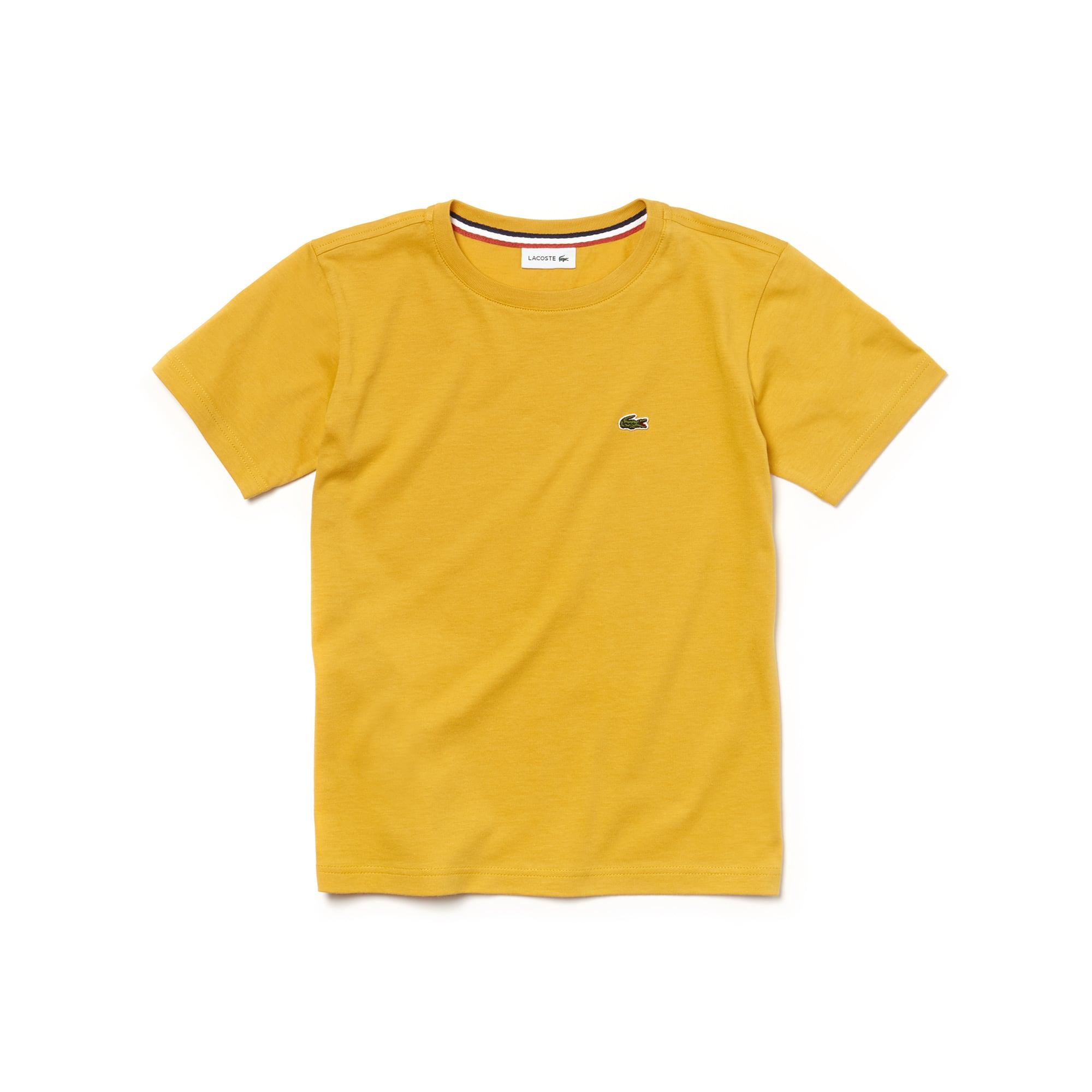 T-shirt col rond Garçon en jersey de coton