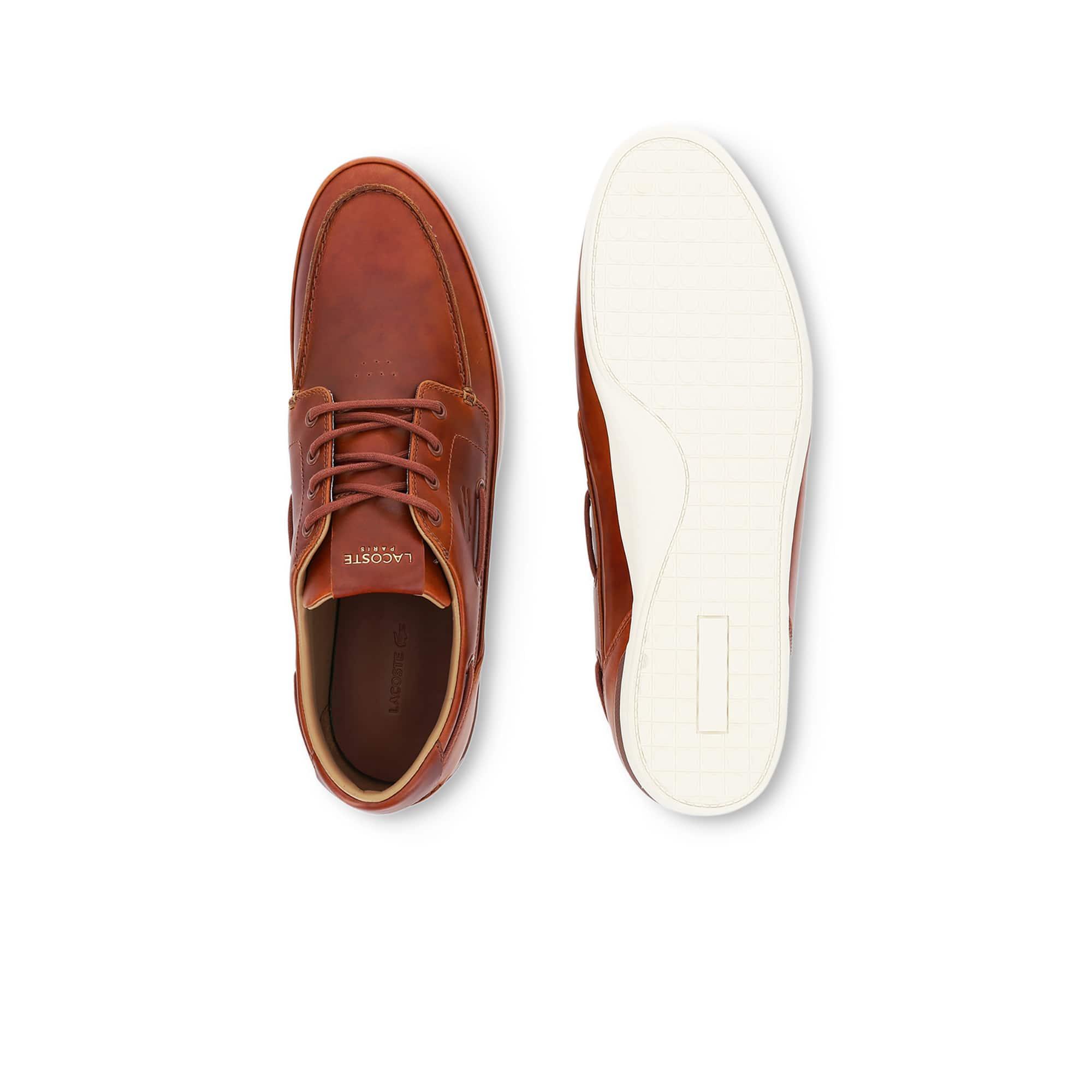 Bateau Premium Qtu6twp Lacoste En Chaussures Cuir Homme Marina wvm8Nn0O