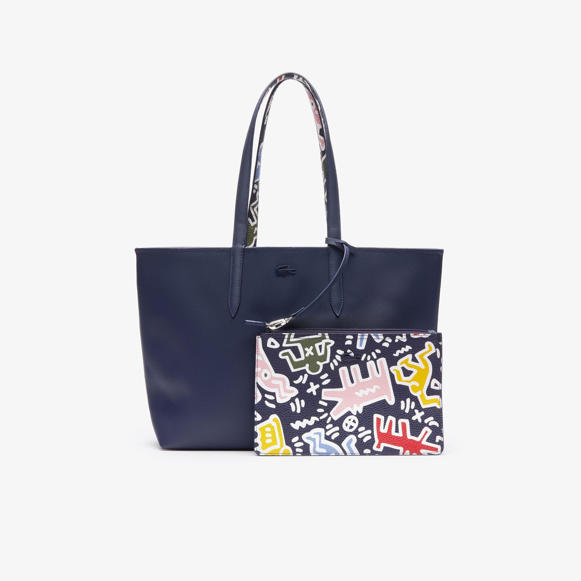 522ad142c8a Edition Limitée. Sac cabas réversible Anna Collab Keith Haring