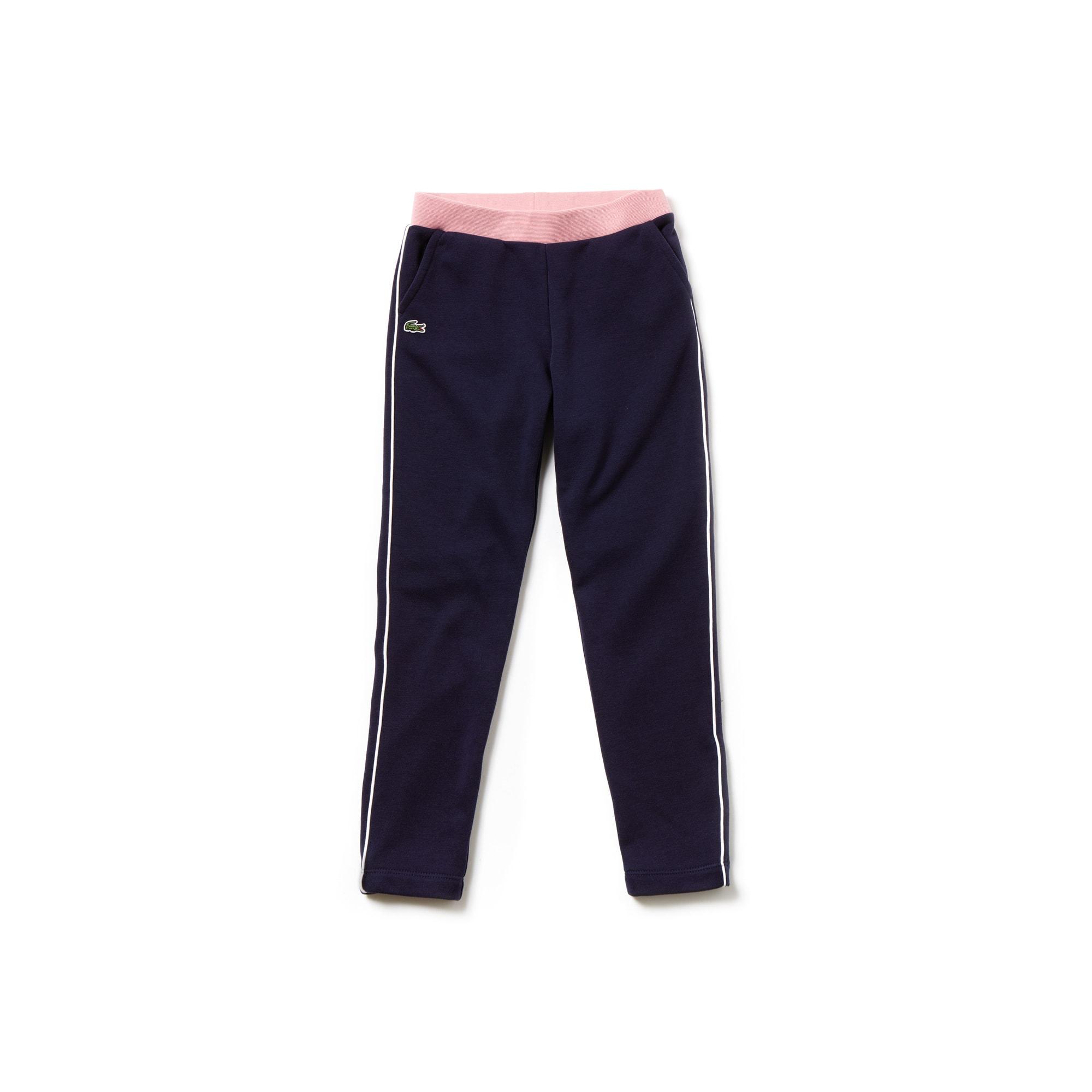Pantalon de survêtement Fille en molleton avec détails contrastés