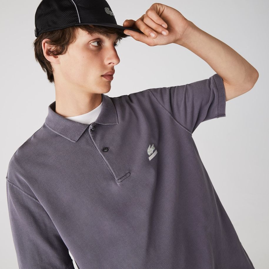 Polo Lacoste loose fit Collab CONCEPTS