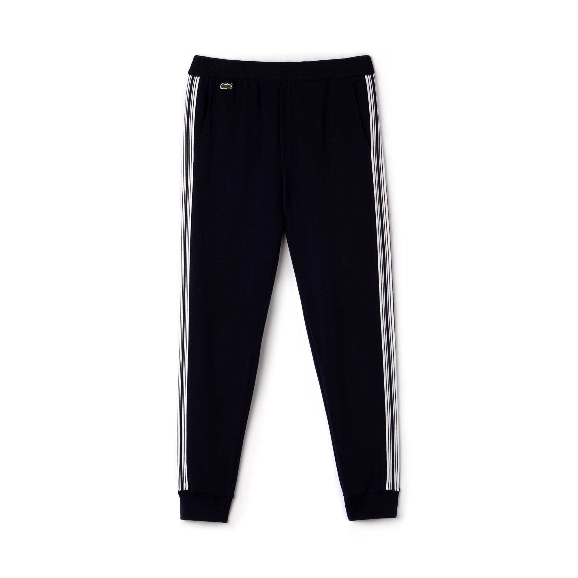 Jogging urbain en coton milano avec bandes contrastées