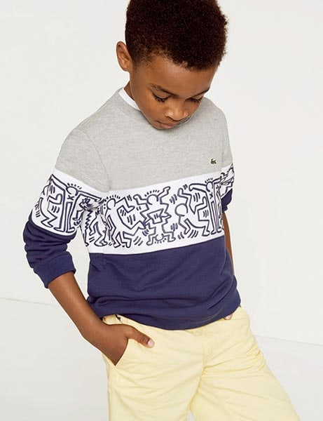 14bca2d59d974 Lacoste x Keith Haring Kids