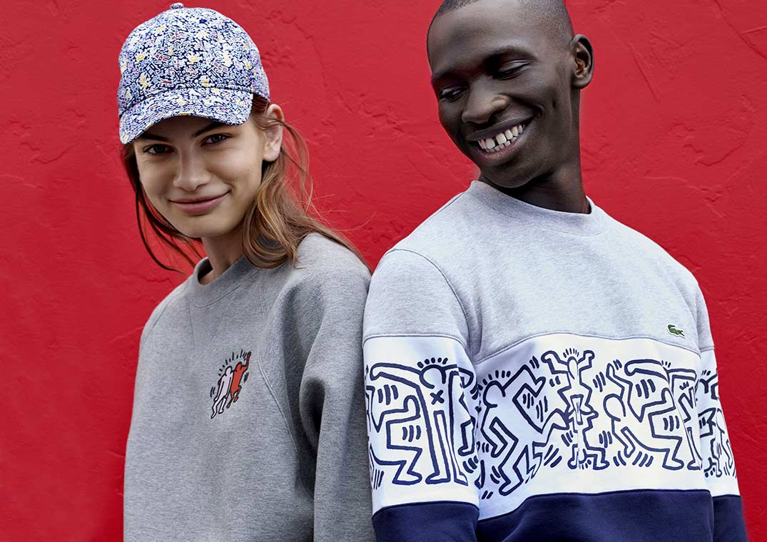 3d173365e33 Lacoste x Keith Haring