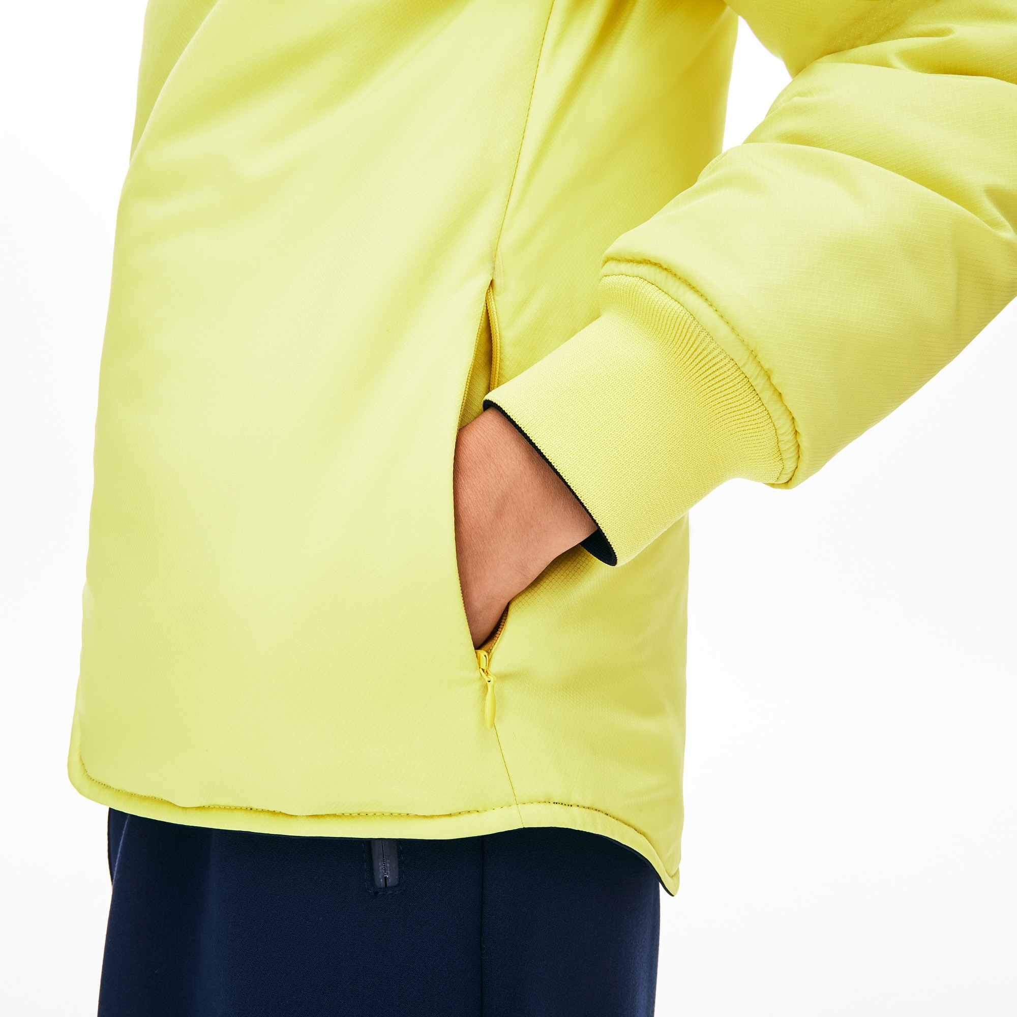 6936a79544 Women's Seamlessly Quilted Reversible Bi-Material Rain Jacket