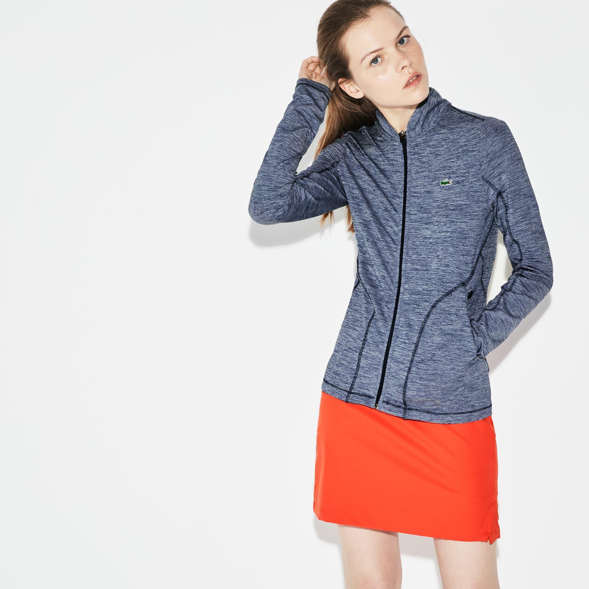 Women's Lacoste SPORT Ryder Cup Edition Zip Midlayer Golf Sweatshirt