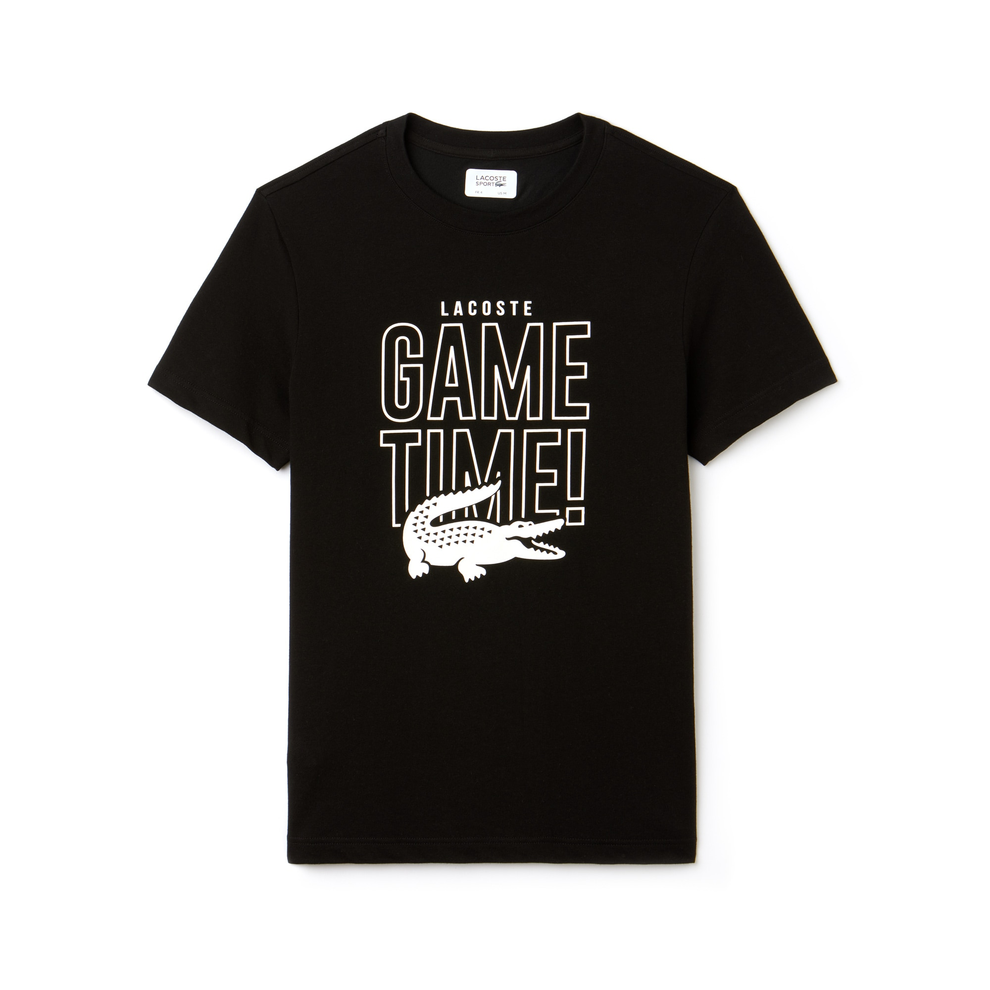Men's Lacoste SPORT Game Time Crew Neck Jersey Tennis T-shirt