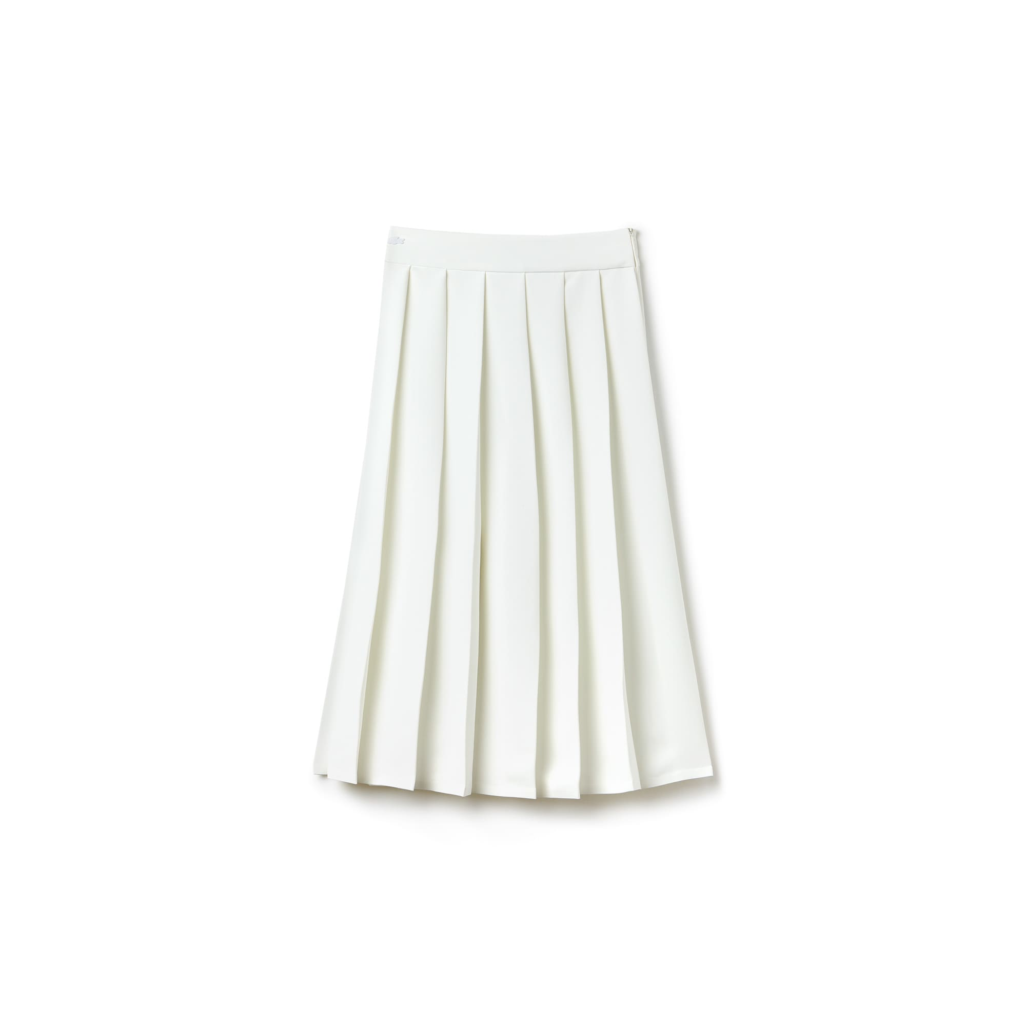 Women's Long Pleated Mousseline Crepe Skirt