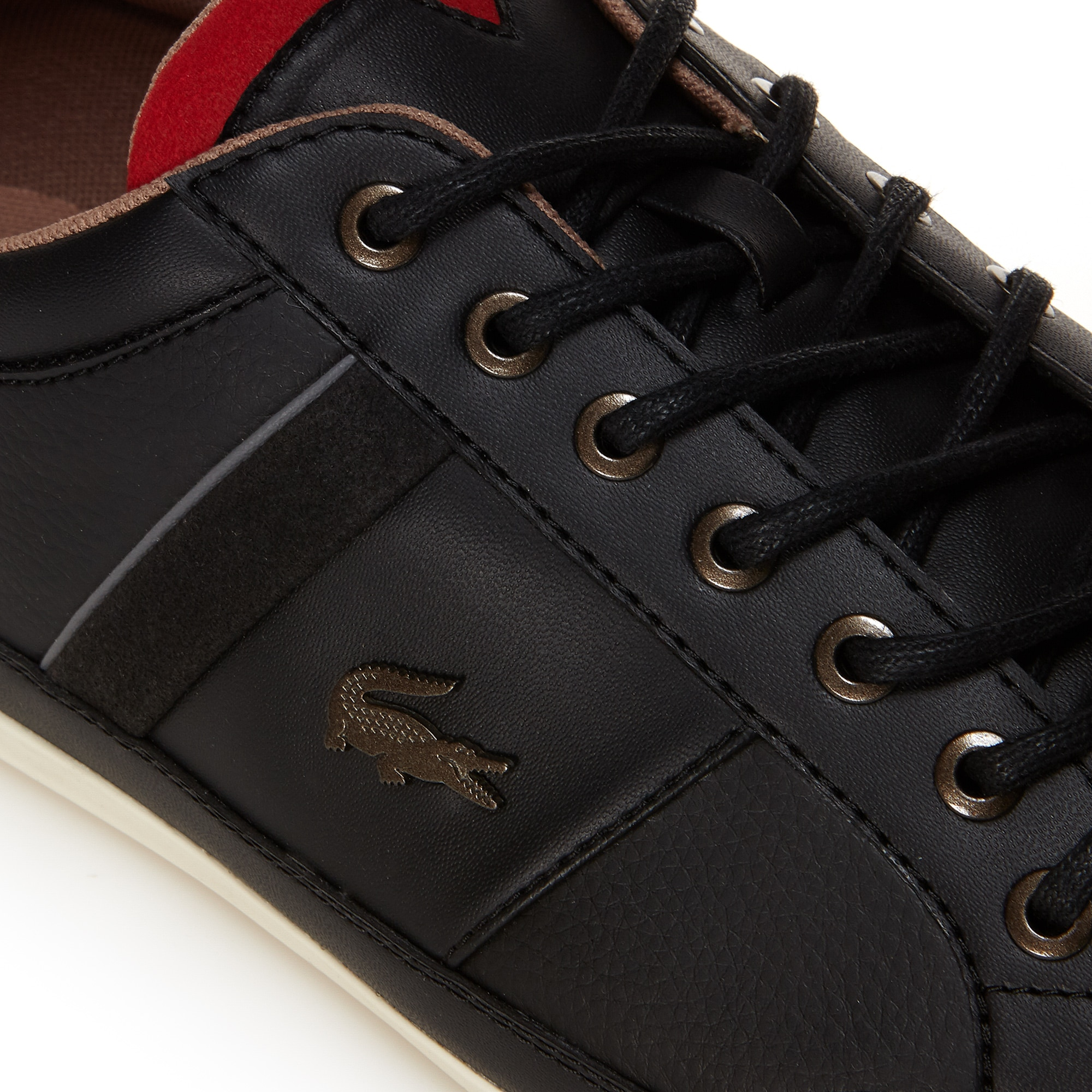 6eedbc7c42dc3 Lacoste Men s Chaymon Nappa Leather Trainers at £105