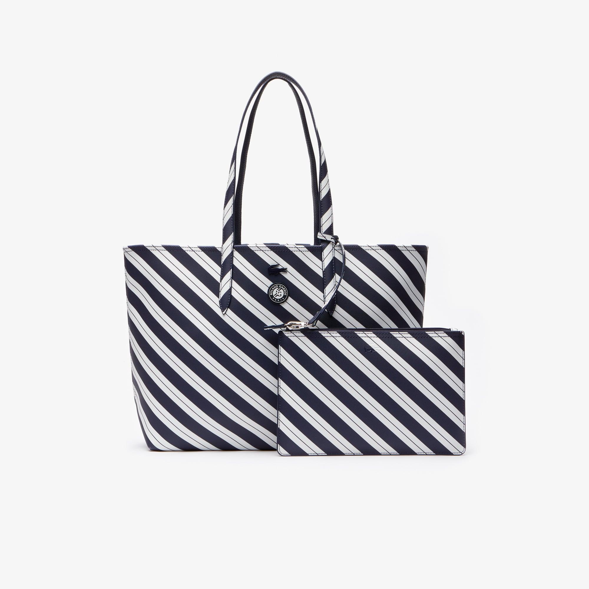 Reversible Print Women's Bag Lacoste Tote Tpuxozik Sport Open French X8n0NwPkO