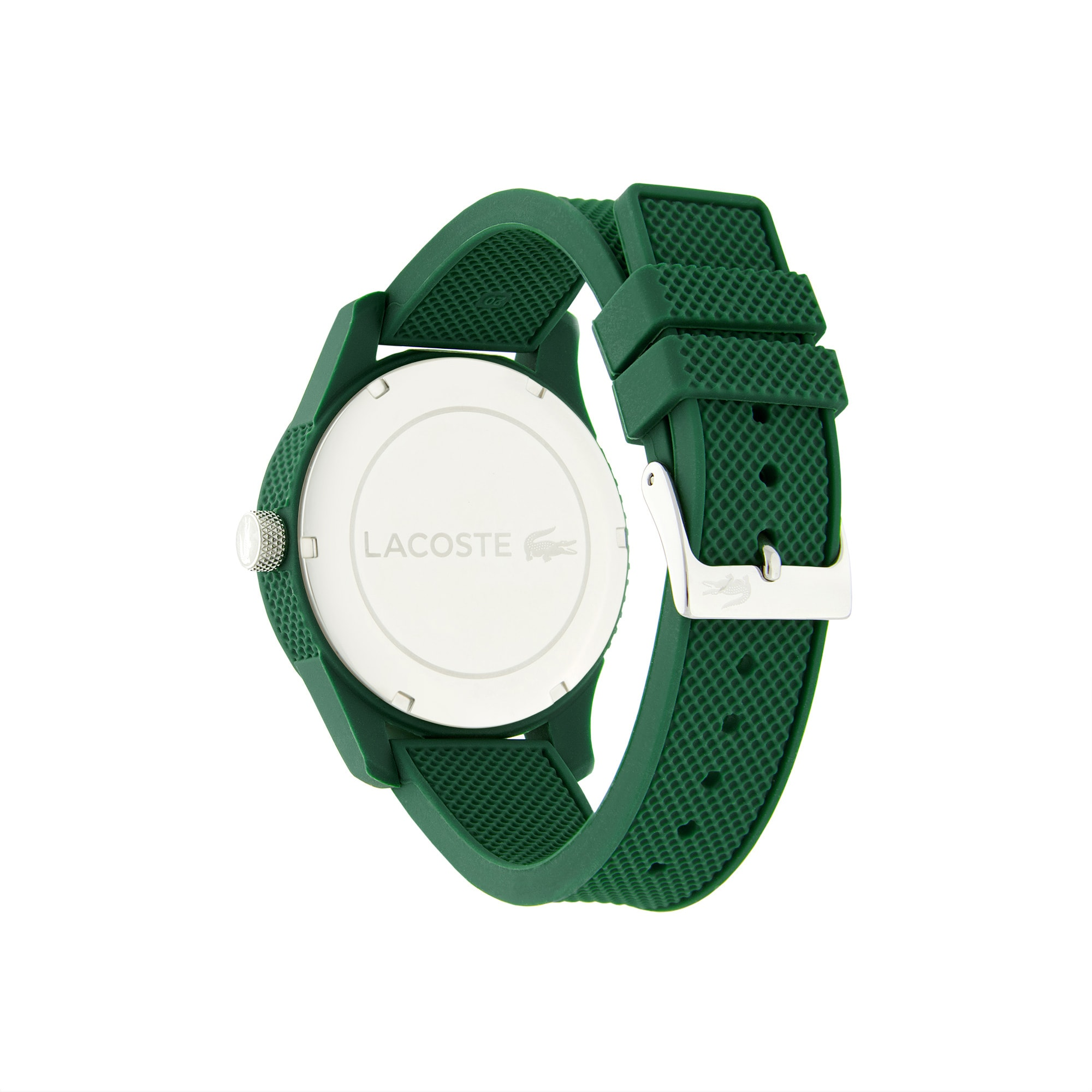 Men's Lacoste 12.12 Watch with Green Silicone Strap
