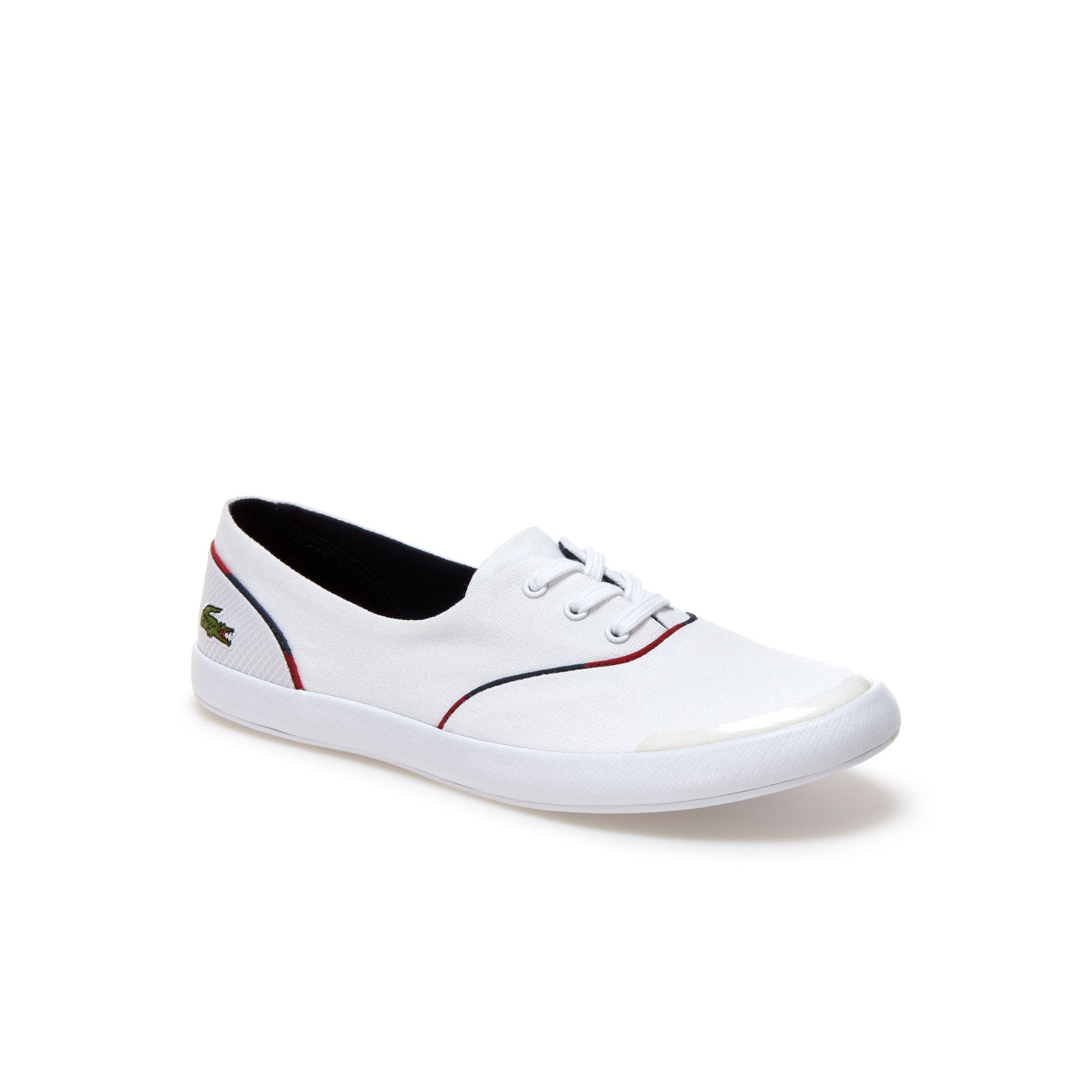 Women's Lancelle 3 Eye Canvas Trainers
