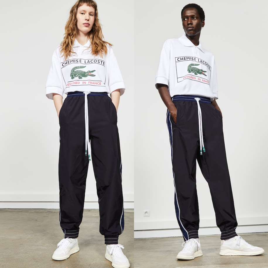 Unisex Fashion Show Edition Side Bands Tracksuit Pants