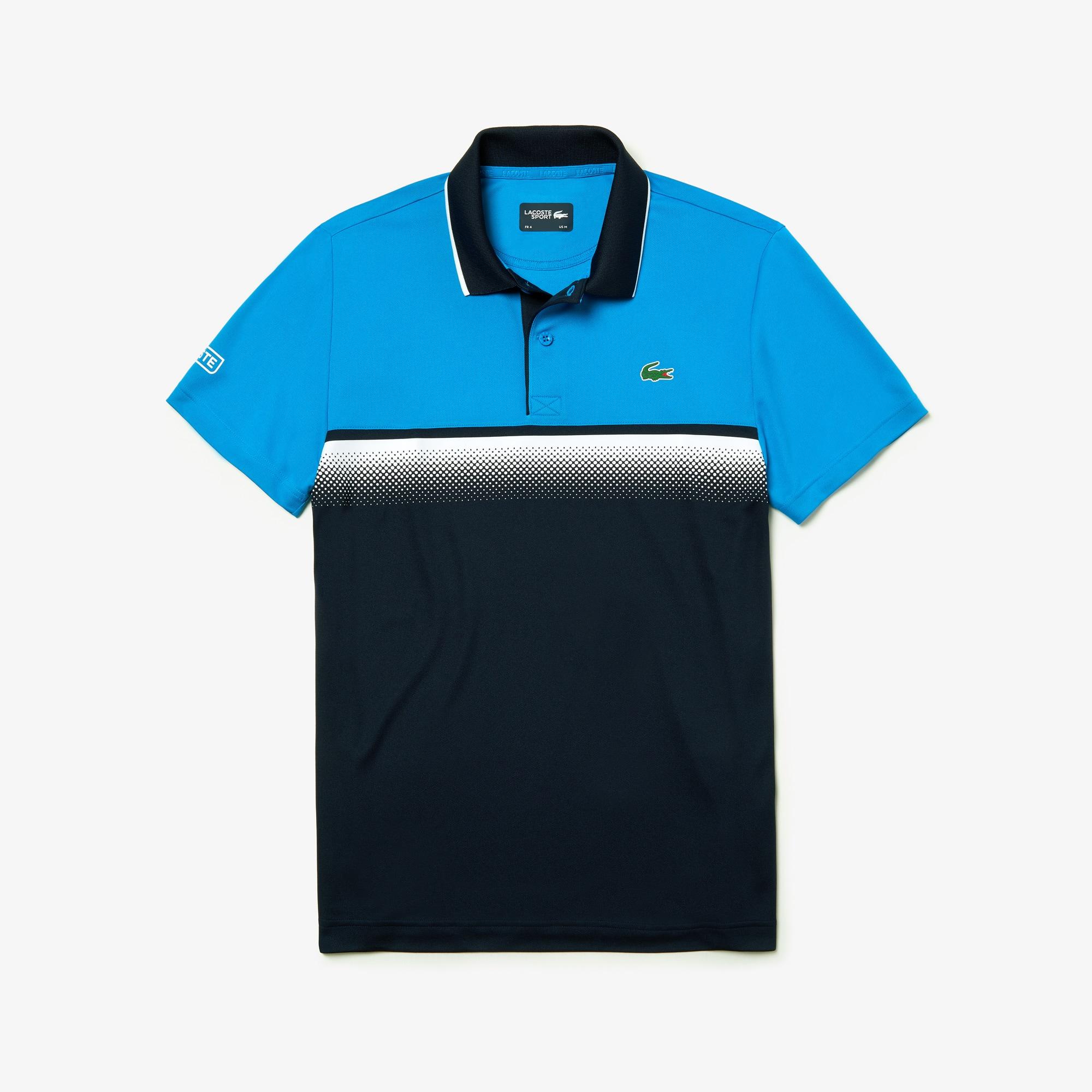 eb98a84c4a10d5 + 3 colors · Men s Lacoste SPORT Shaded Colourblock Technical Piqué Tennis Polo  Shirt