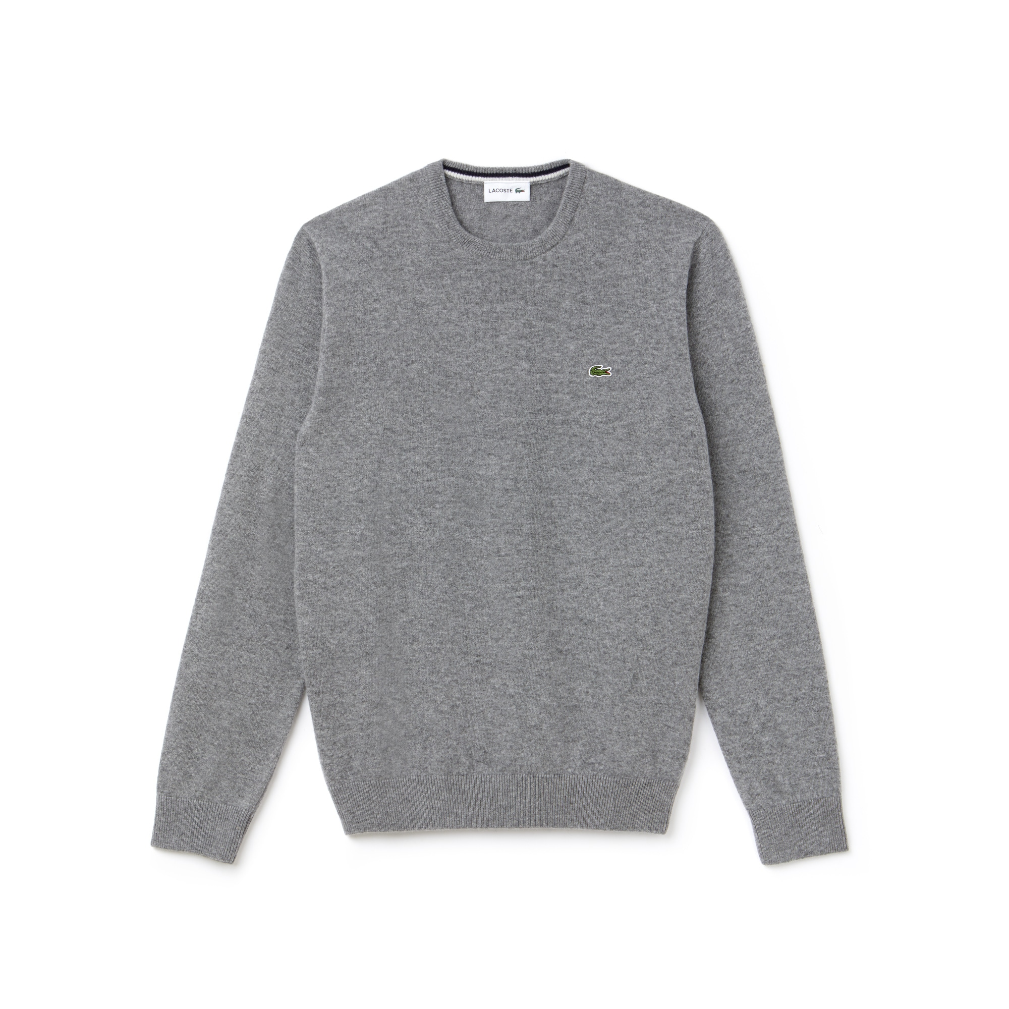 99de7e634d854 Men s Crew Neck Wool Jersey Sweater