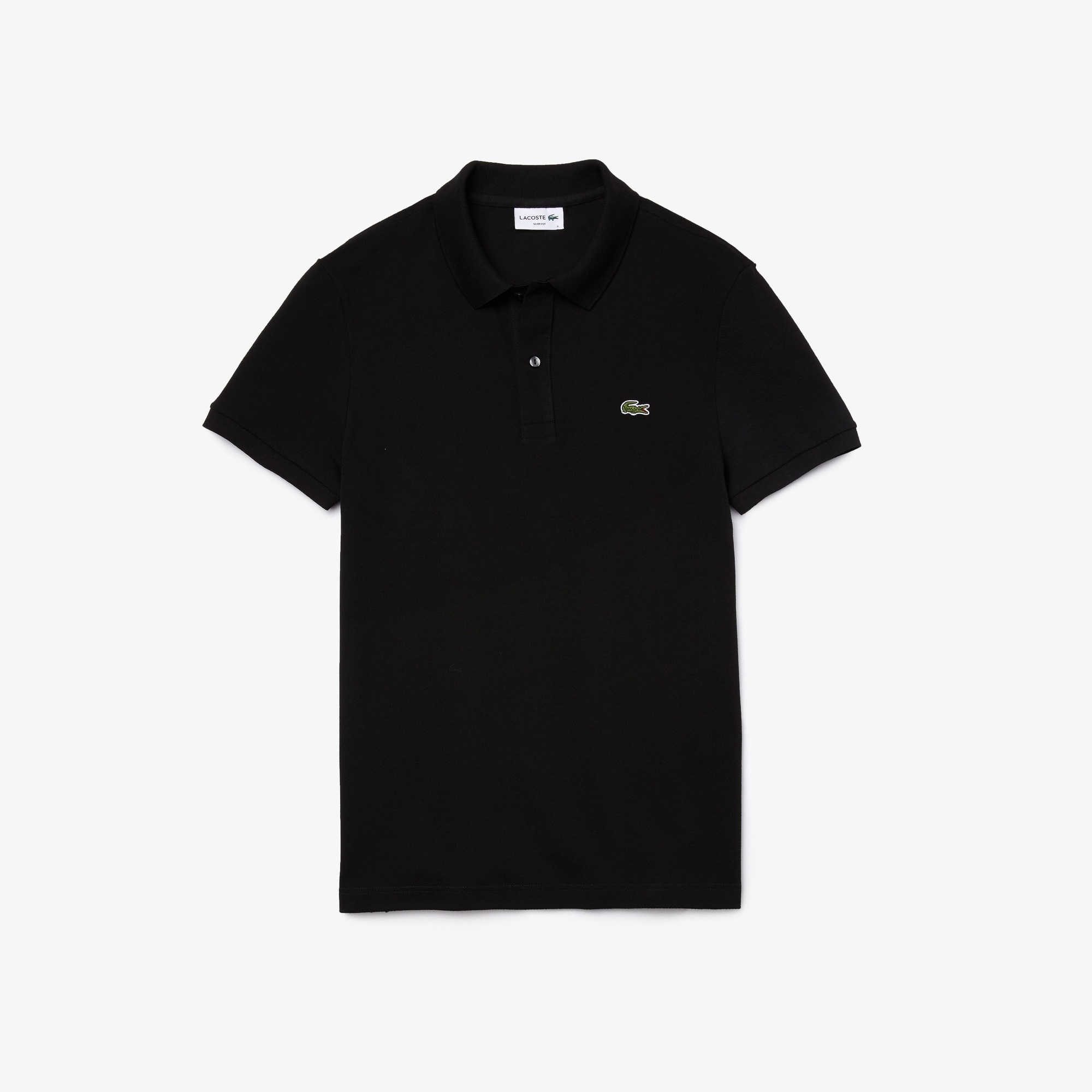 Men's Slim fit Lacoste Polo Shirt in petit piqué