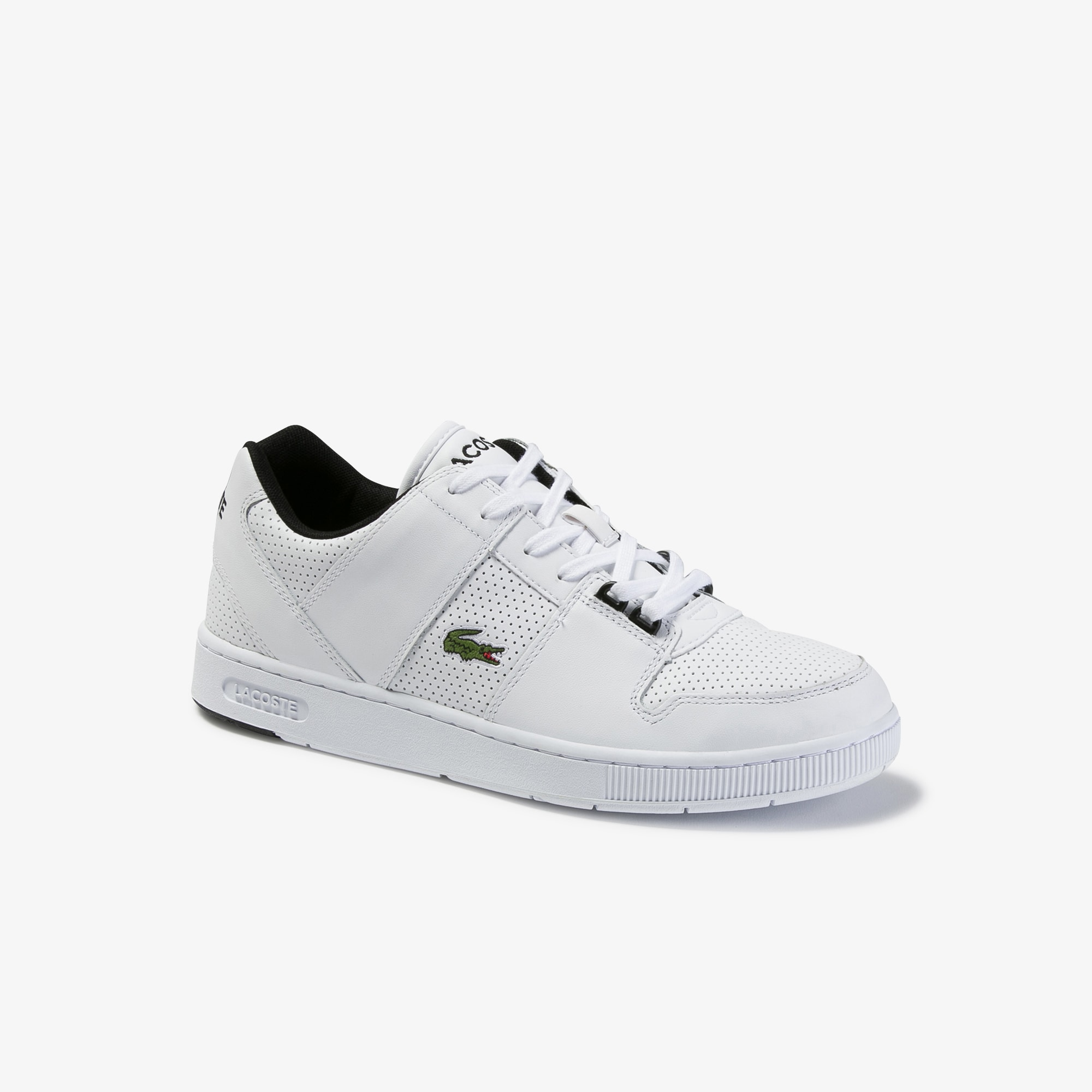 Men's Thrill Perforated Leather Trainers