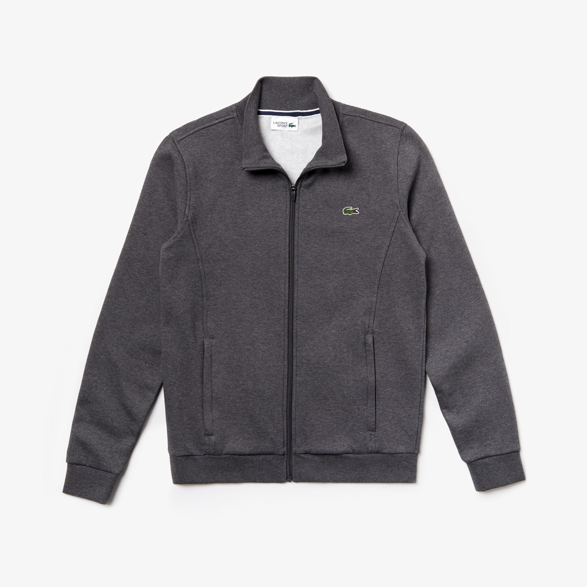 afce45233e Men's Lacoste SPORT zip-up fleece sweatshirt