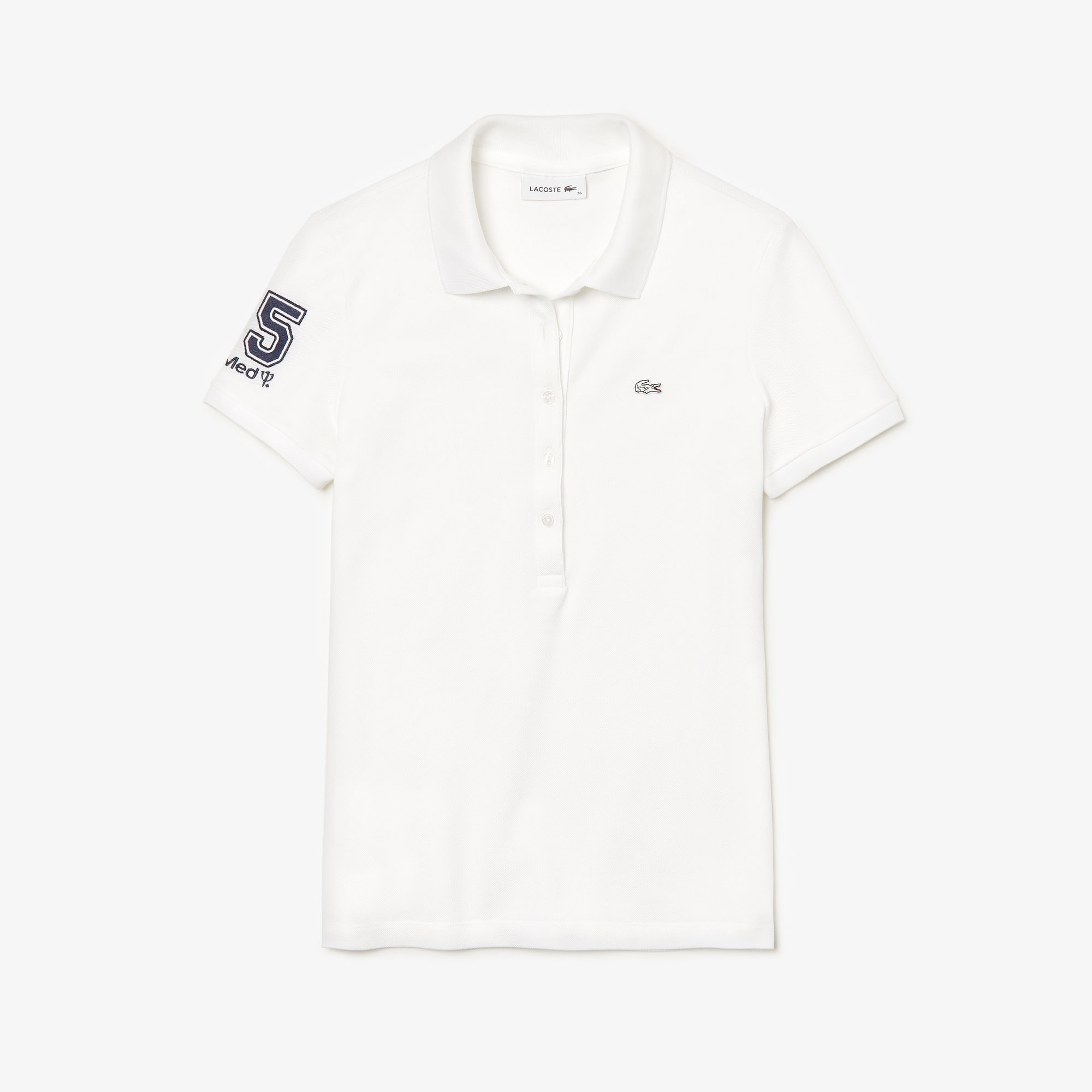 The Feminine Lacoste - Club Med Polo Shirt
