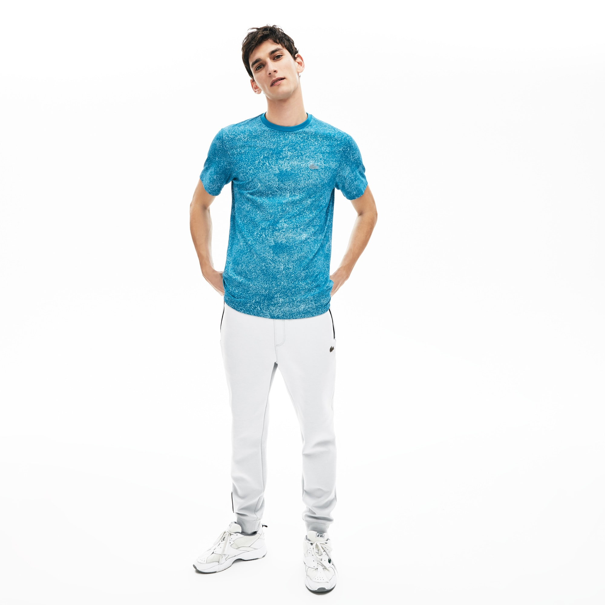 Men's Lacoste Motion Ultra-light Crew Neck T-shirt