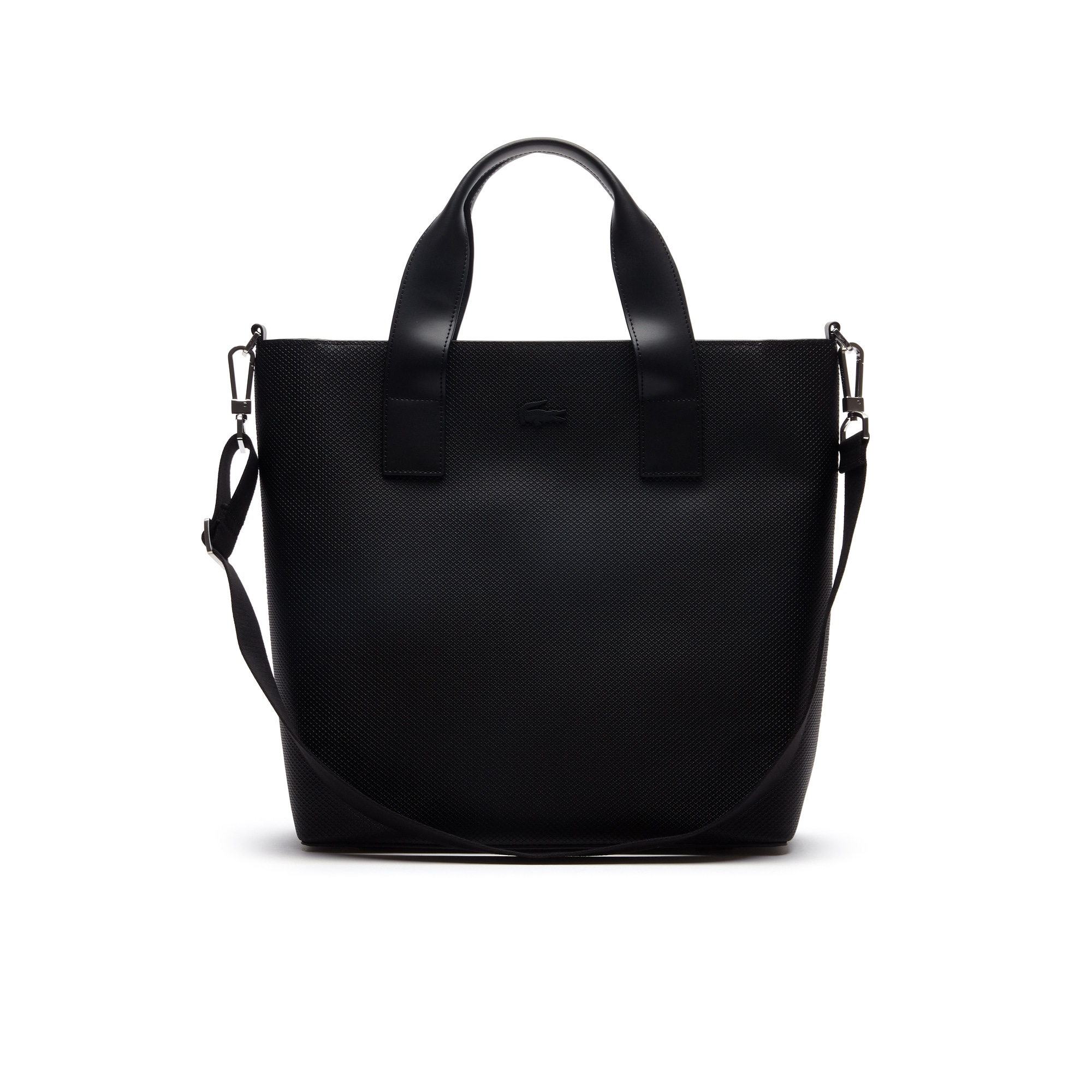 Men's Chantaco Piqué Leather Vertical Tote Bag
