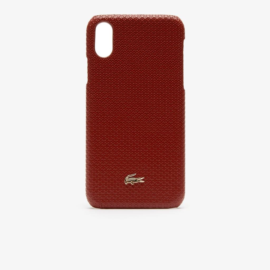 Women s Chantaco Piqué Leather iPhone X Shell  da6958f186