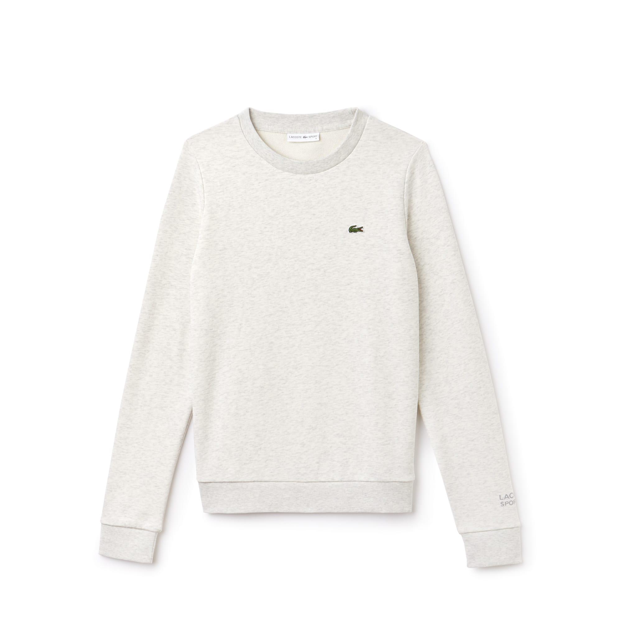 3c43587018 Women's Lacoste SPORT Tennis Cotton Fleece Sweatshirt ...