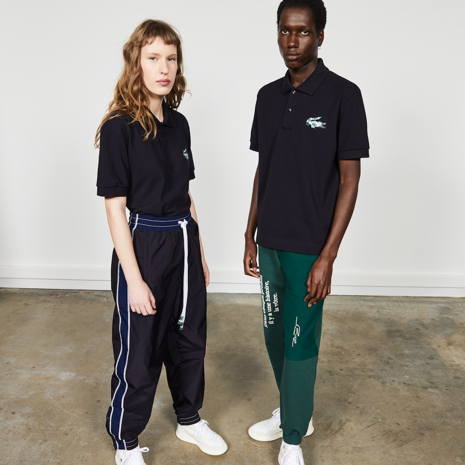 Unisex Lacoste Fashion Show Edition Cotton Piqué Polo Shirt