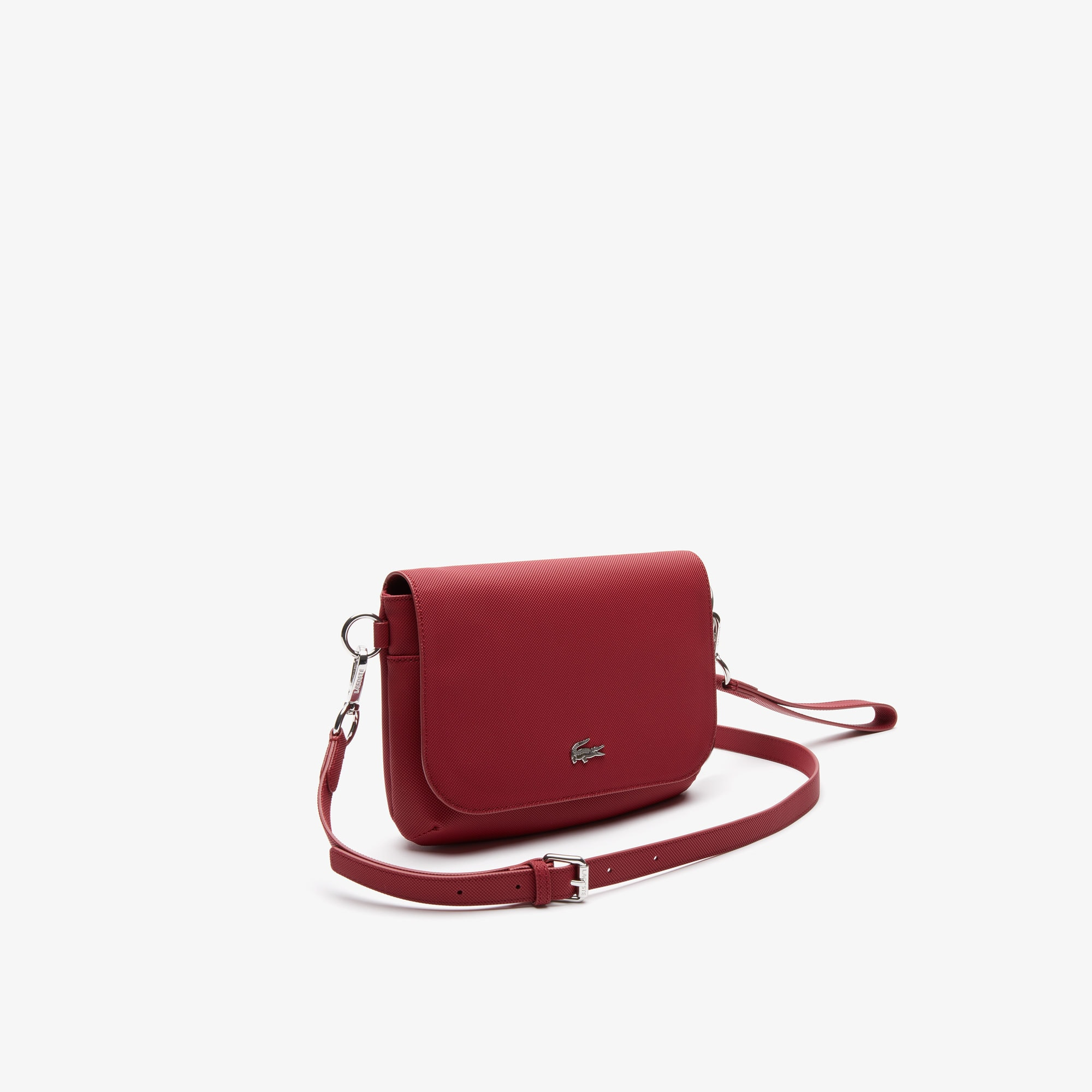 Women's Daily Classic Coated Piqué Canvas Flap Shoulder Bag