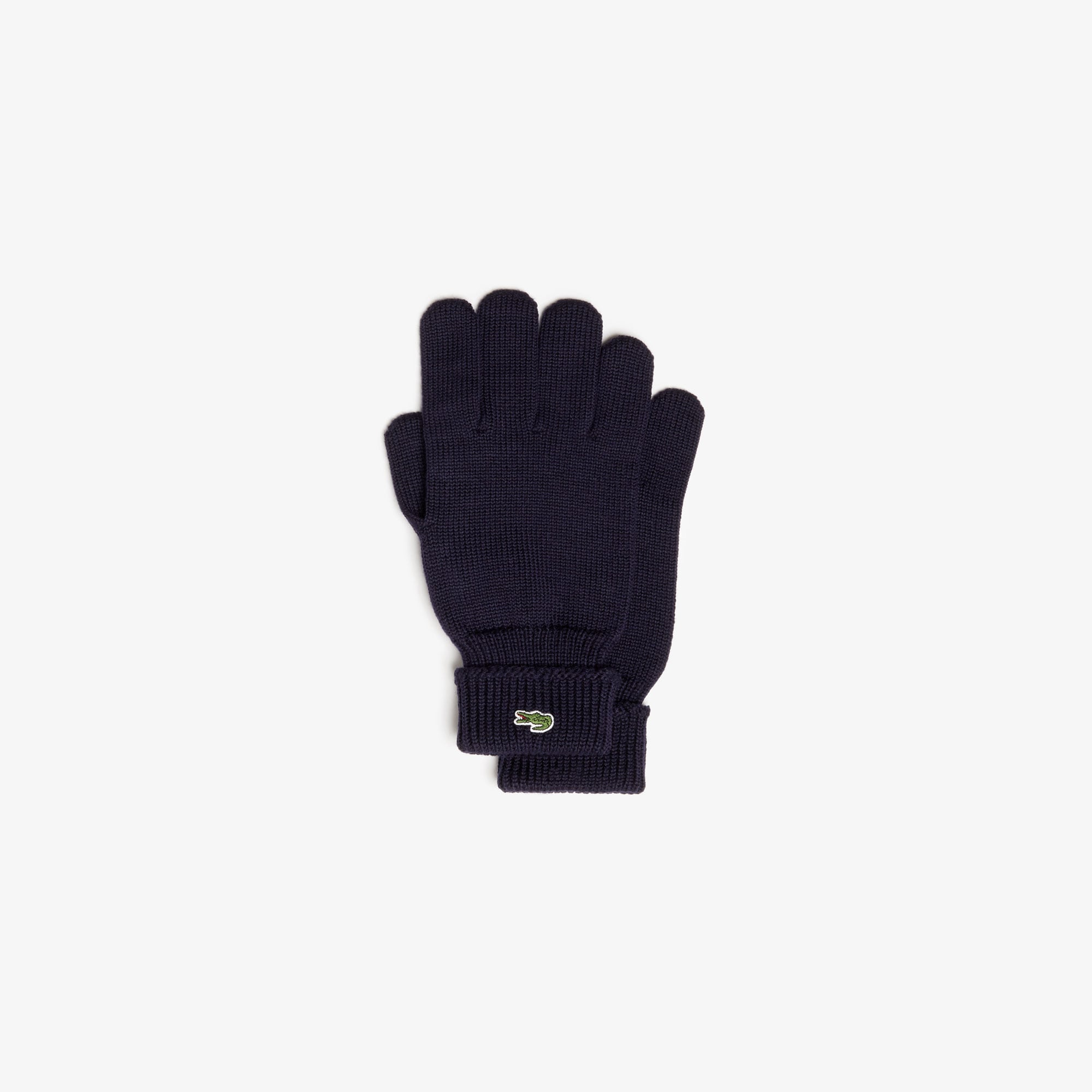 Men's Ribbed Wool Gloves