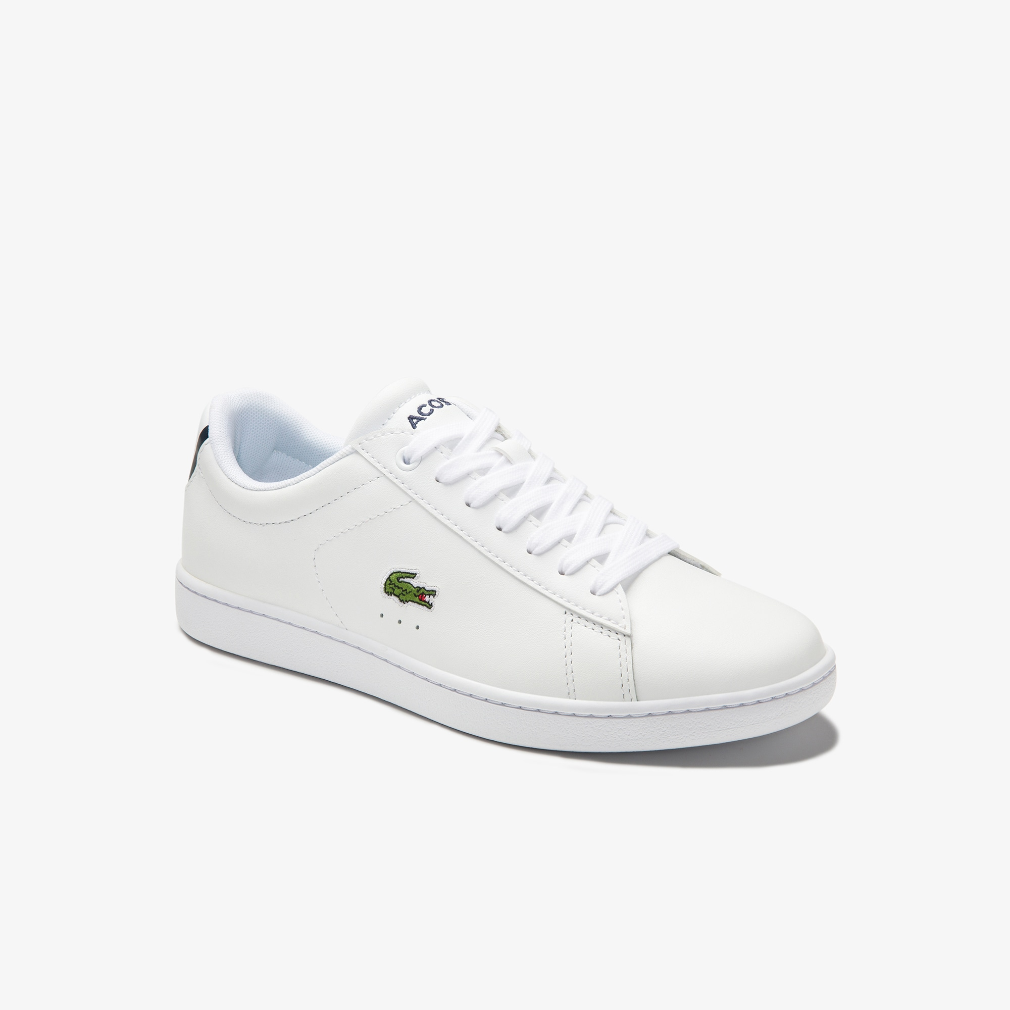 Lacoste WOMEN'S CARNABY EVO LEATHER TRAINERS BuQpDot0
