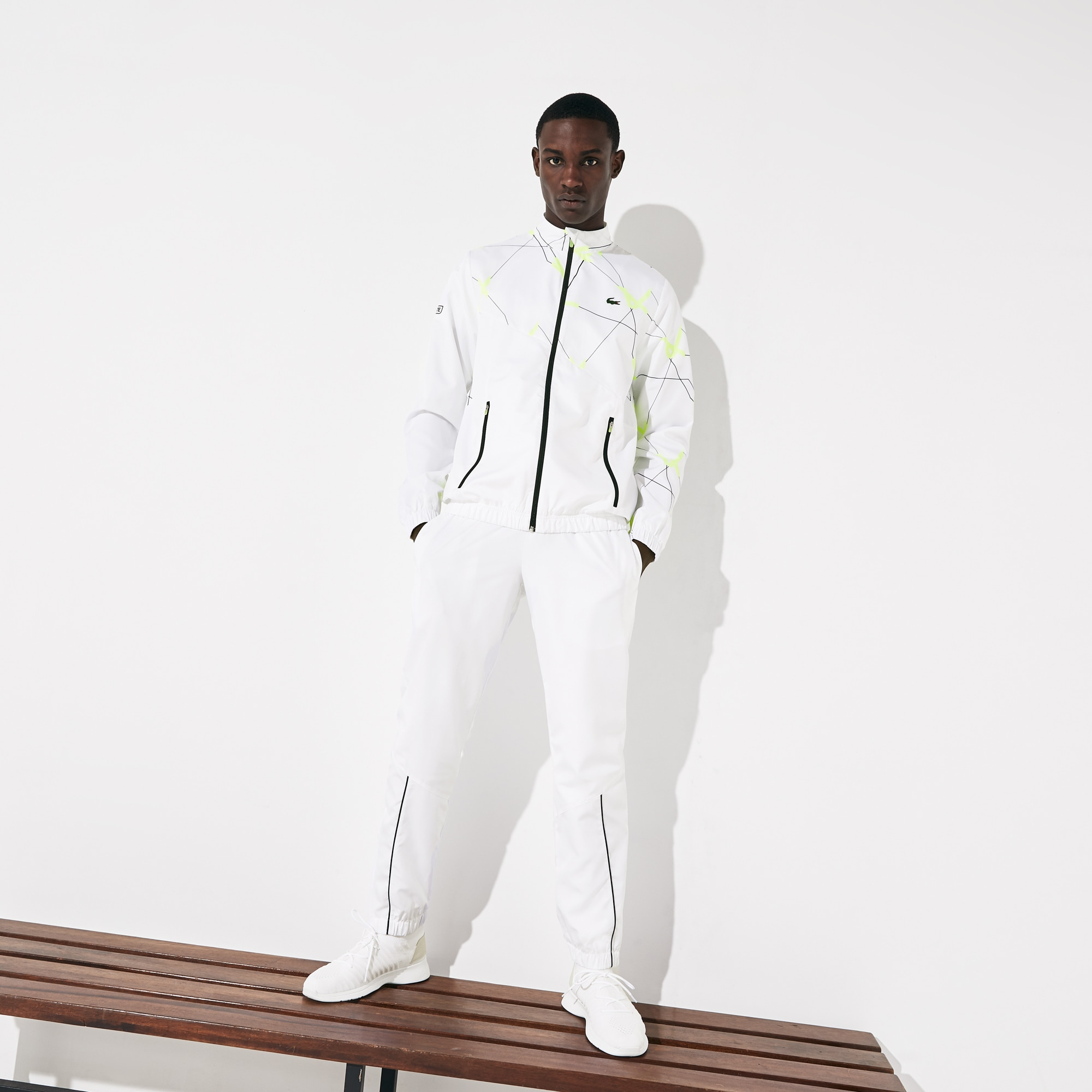 Men's Lacoste SPORT Graphic Print Tennis Sweatsuit