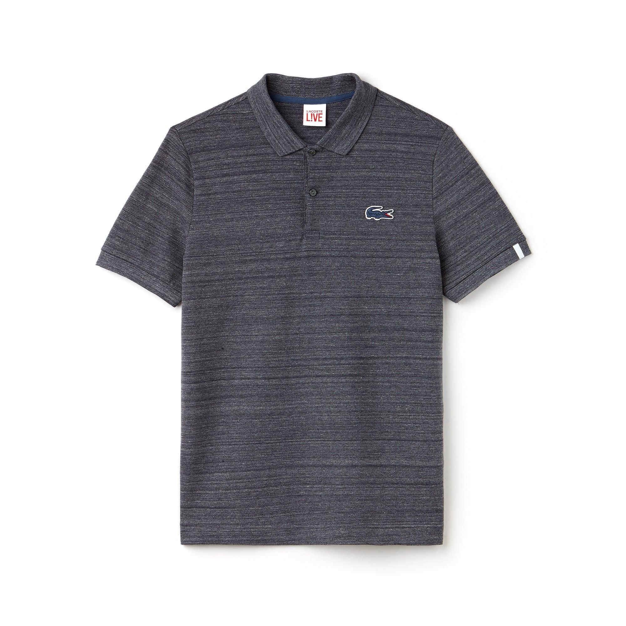 5a04dffe71b7e ... Men s Lacoste LIVE Slim Fit Stretch Mini Piqué Polo Shirt