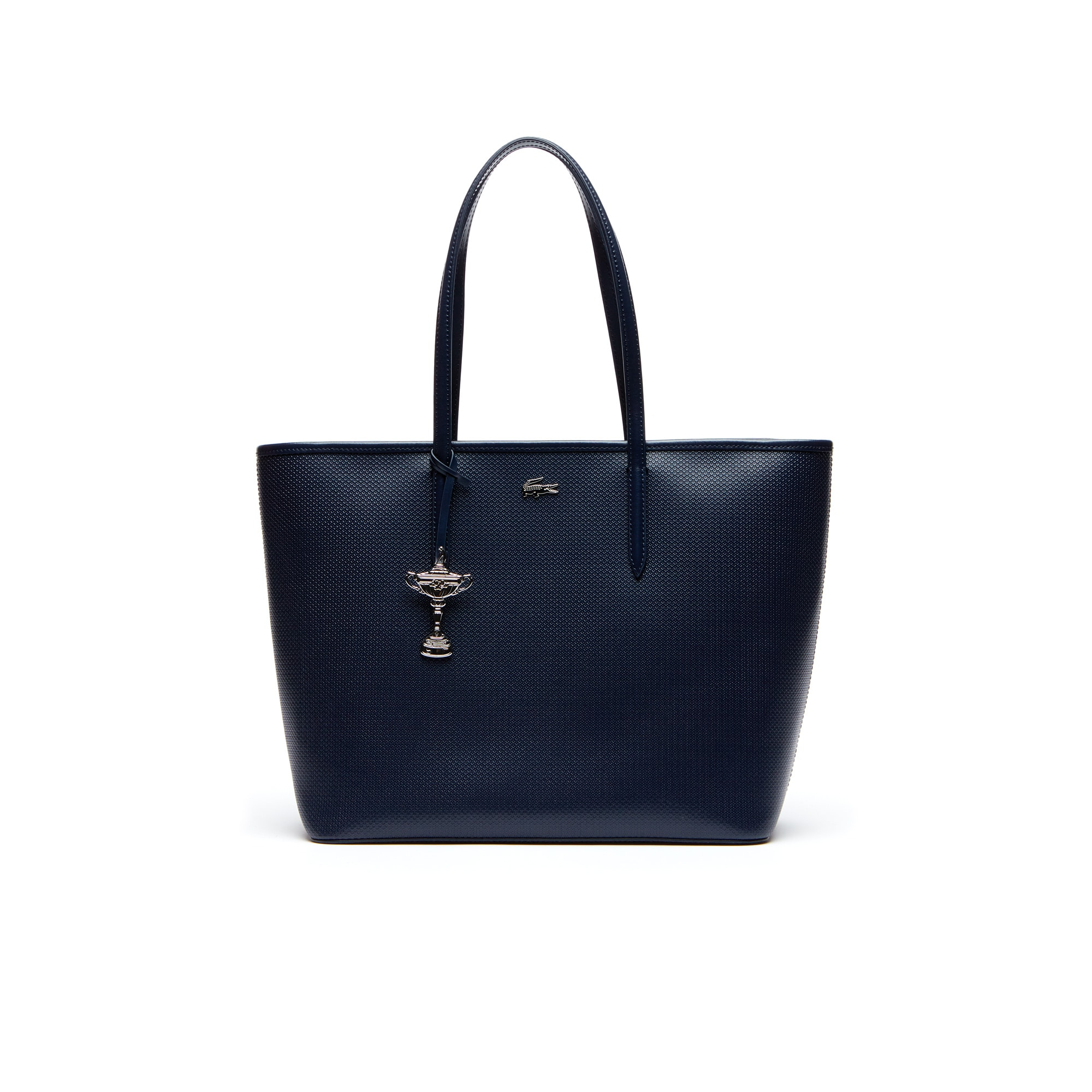 Women's Lacoste SPORT Ryder Cup Leather Zip Golf Tote Bag