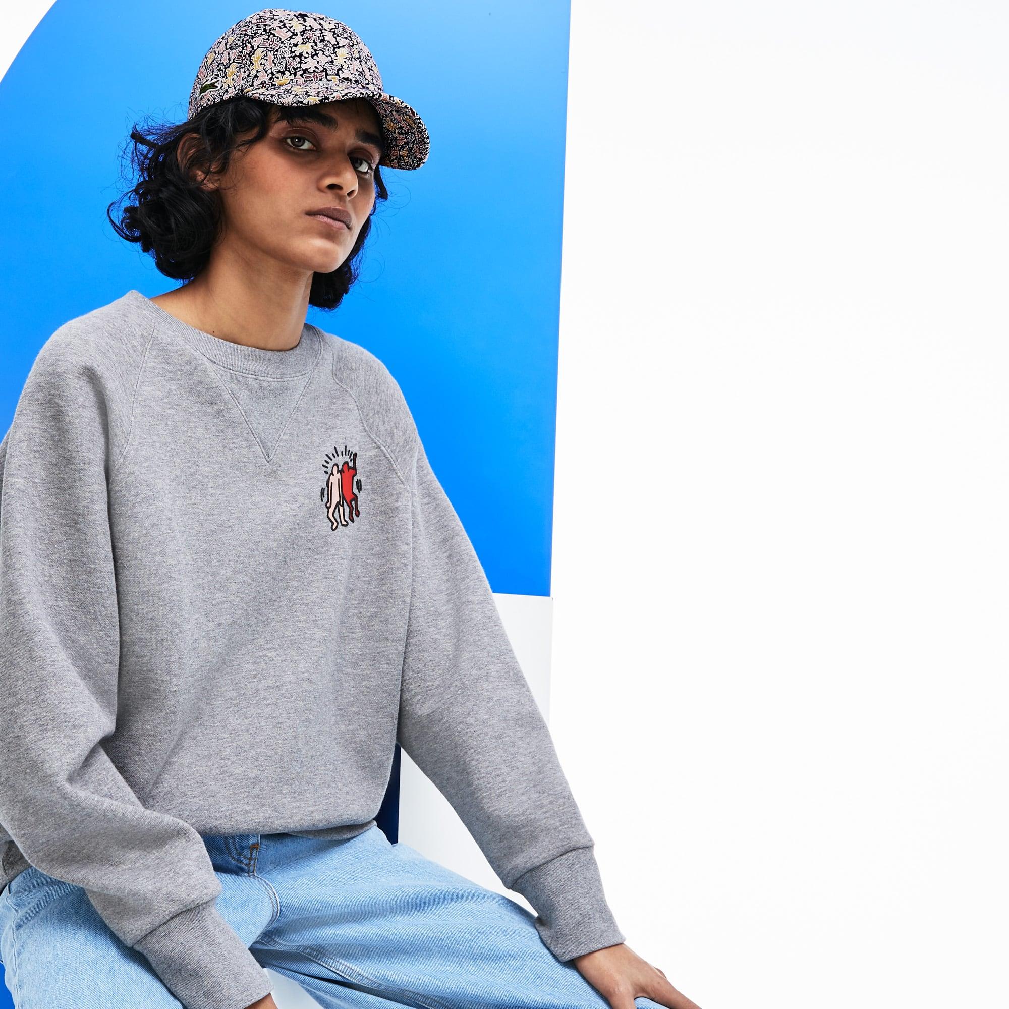 7ad22986 Women's Keith Haring Print Cotton Cap