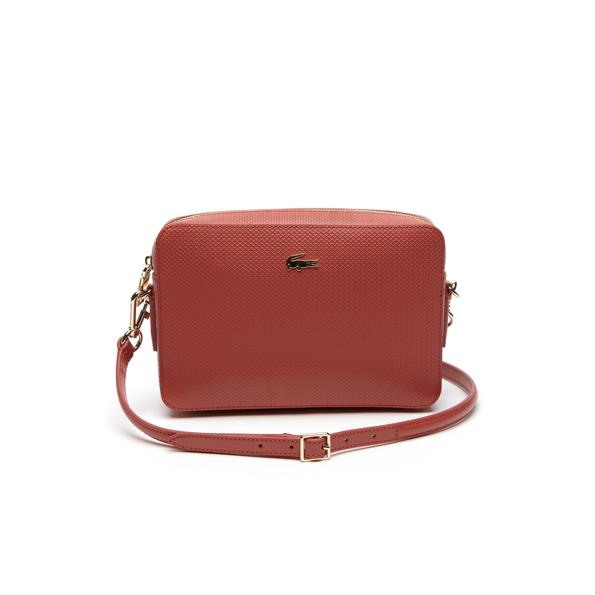 Women's Chantaco Piqué Leather Square Crossover Bag