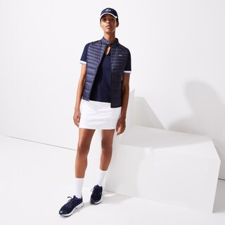 Women's Lacoste SPORT Water-Resistant Quilted Technical Golf Vest