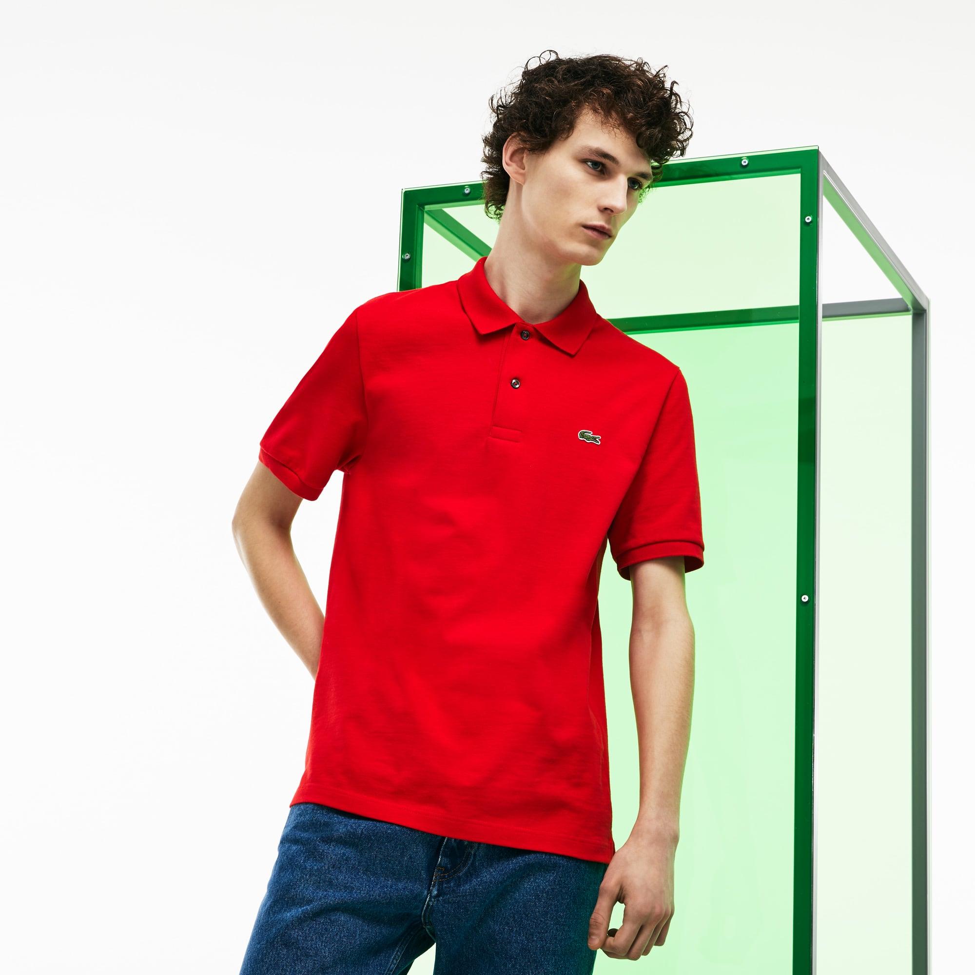 Men's Lacoste Fashion Show Thick Cotton Jersey Polo Shirt