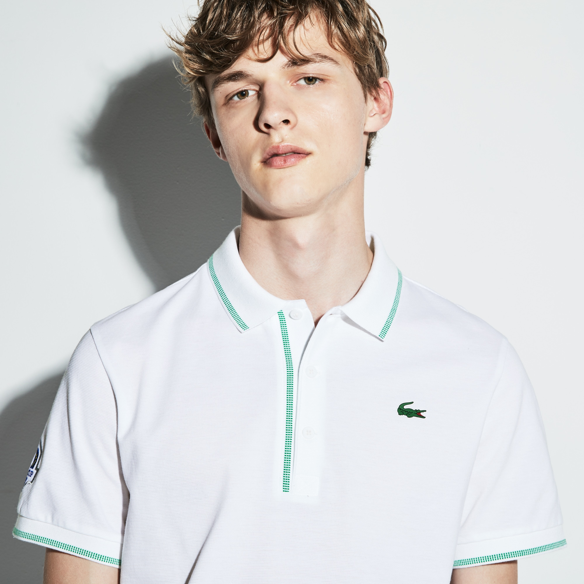 Men's Lacoste SPORT Ryder Cup Edition Piped Cotton Golf Polo Shirt