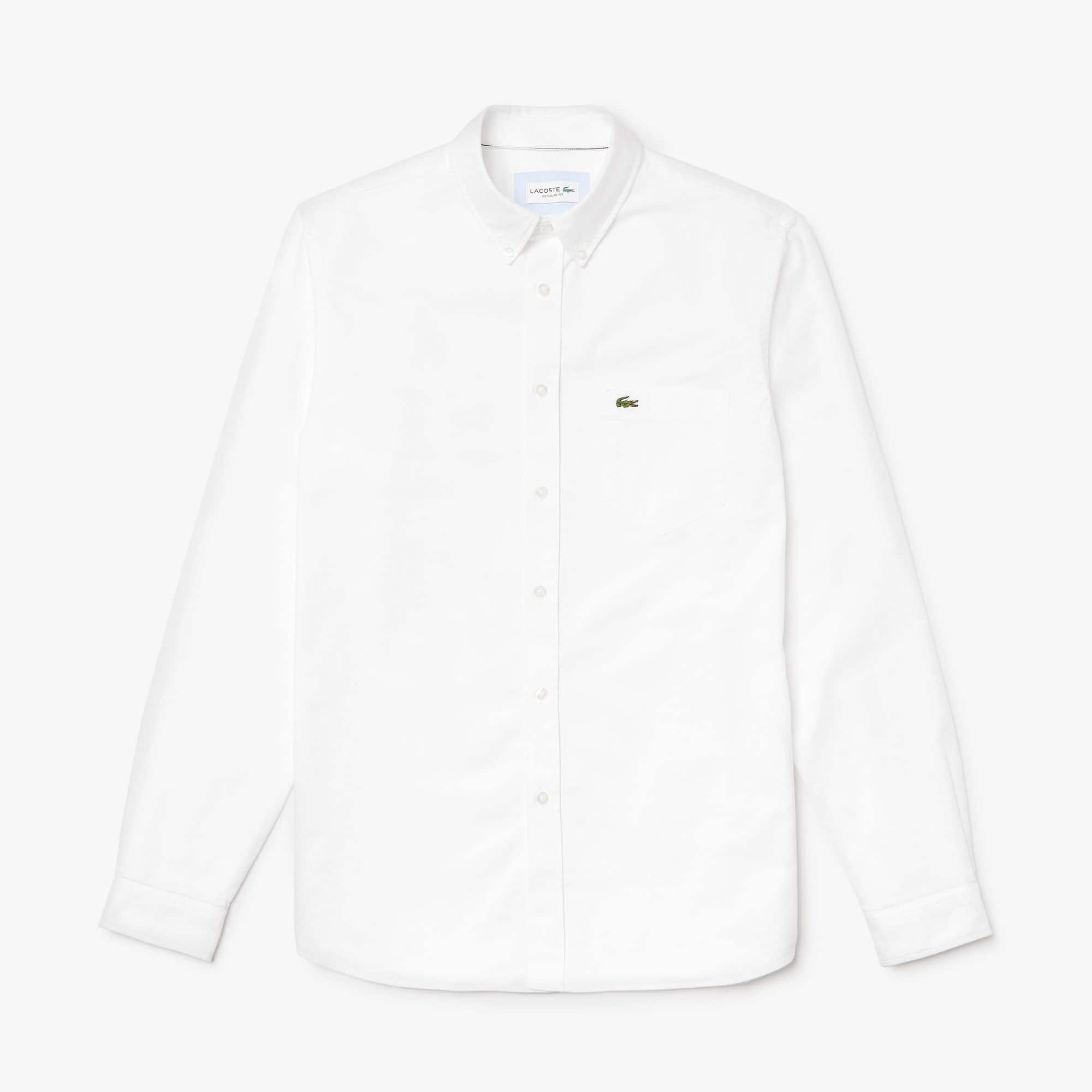 Men\u0027s Regular Fit Cotton Oxford Shirt. �85.00 85.00 GBP. Colour : WHITE