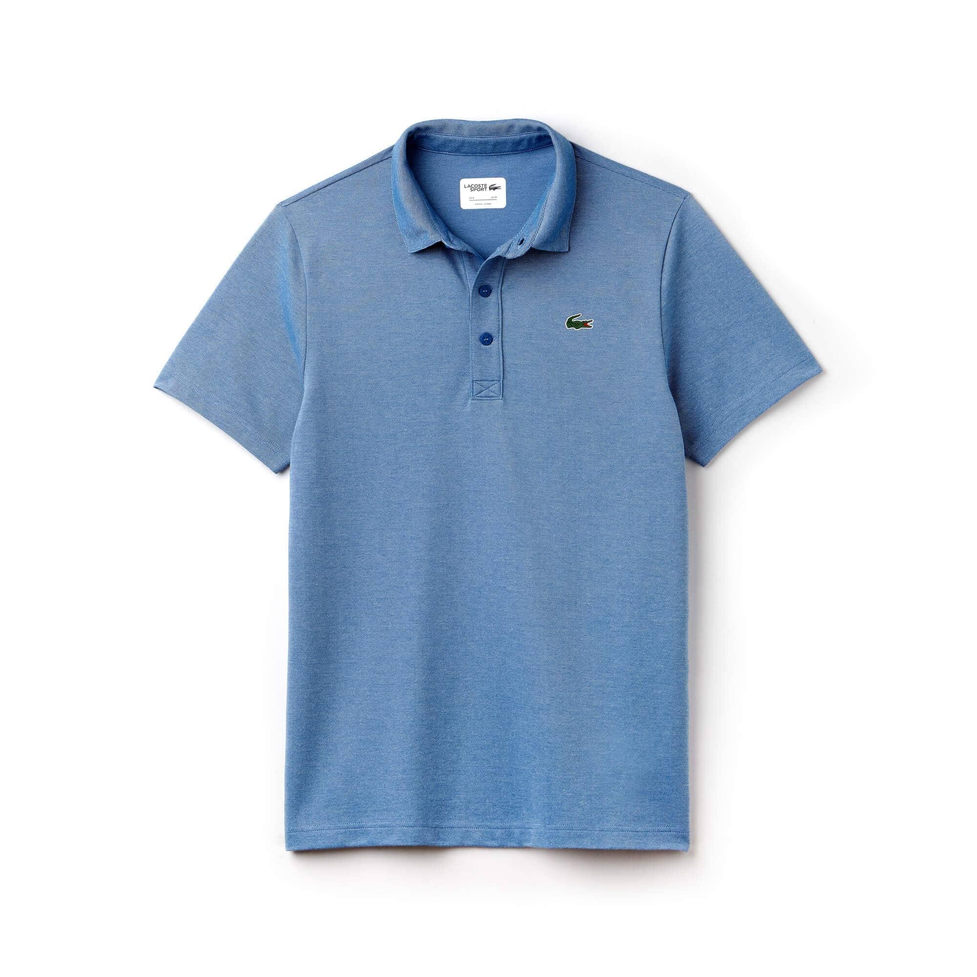 Men's Lacoste SPORT Bicolor Technical Jersey Golf Polo
