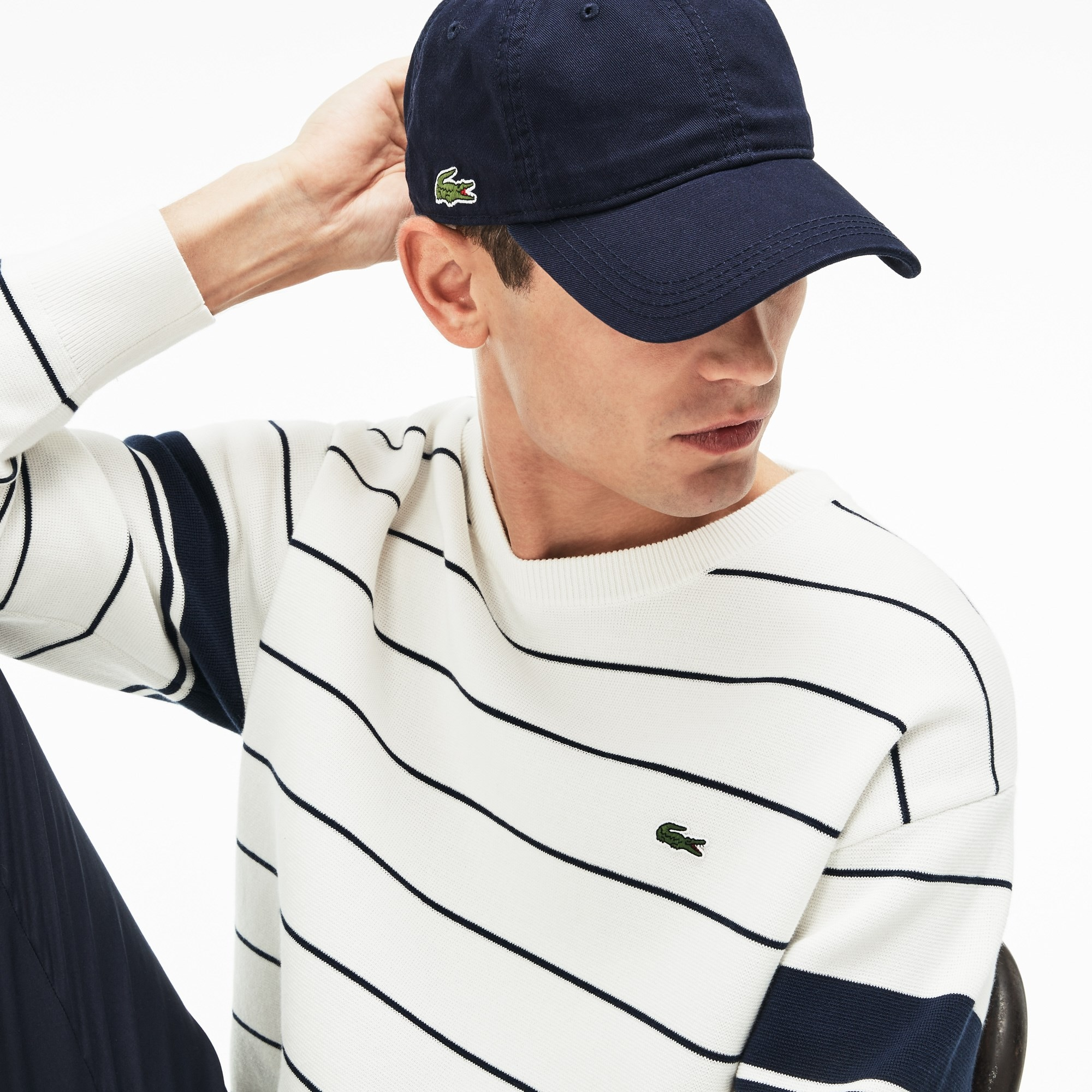 79d5a6bbb6c Men s Lacoste LIVE Signature Embroidery Cotton Cap. £40.00. + 9 colors