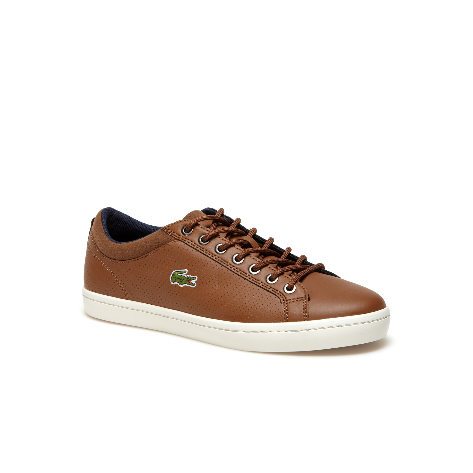 Men's Straightset SP Punched Leather Trainers