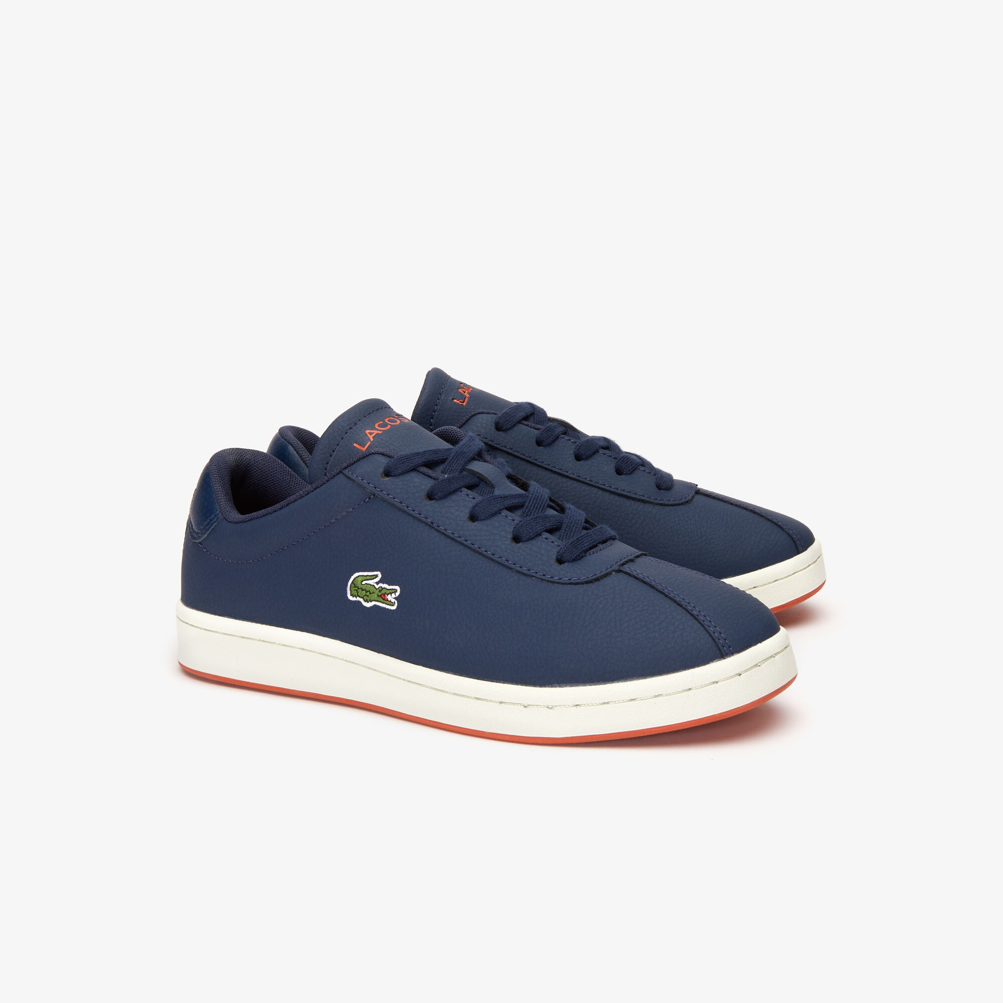Juniors' Masters Leather Trainers