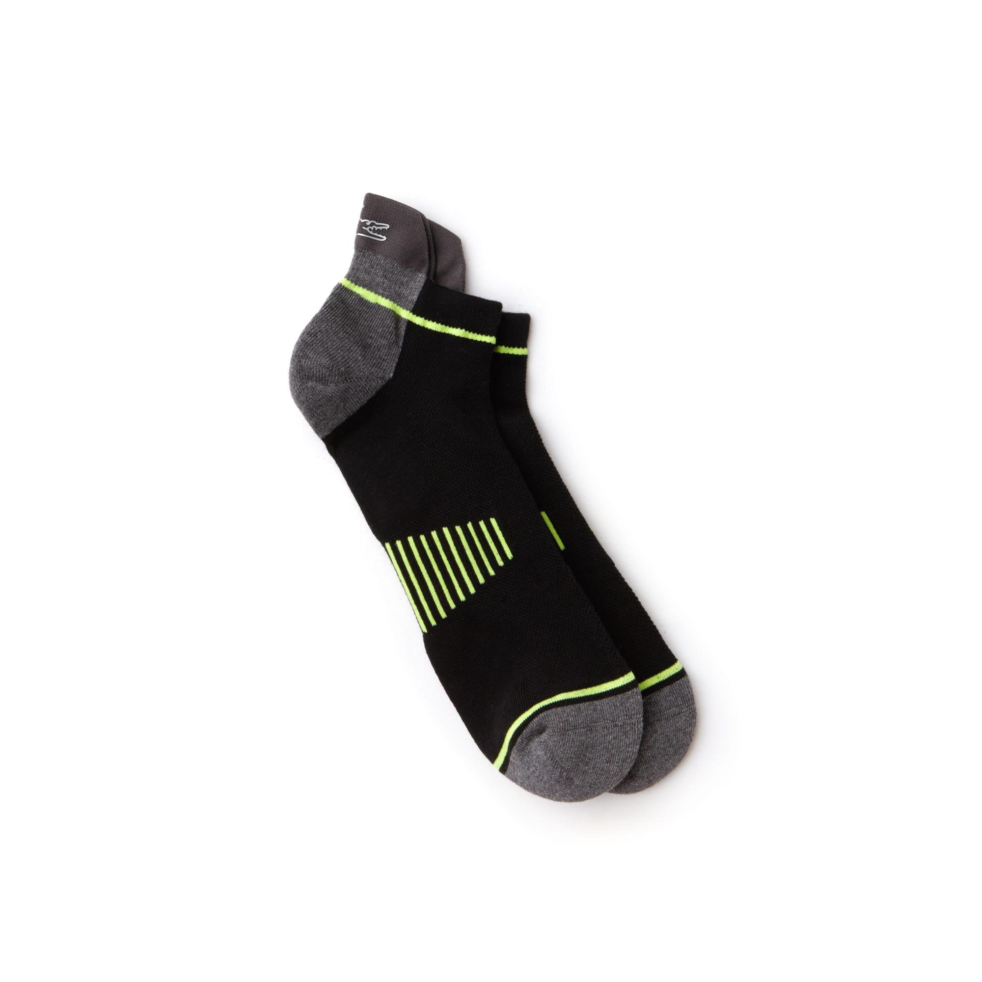 Men's Lacoste SPORT Stretch Colorblock Jersey Tennis Socks