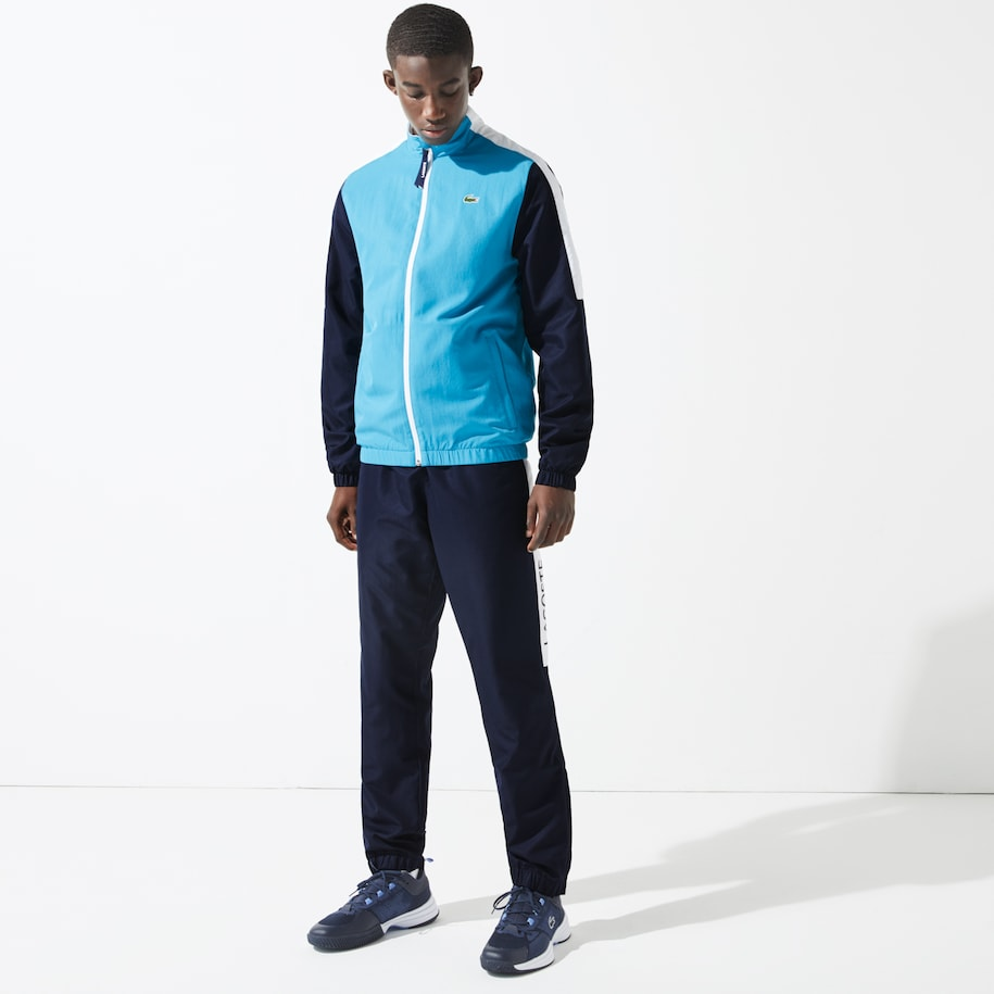 Men's Lacoste SPORT Light Colourblock Tracksuit